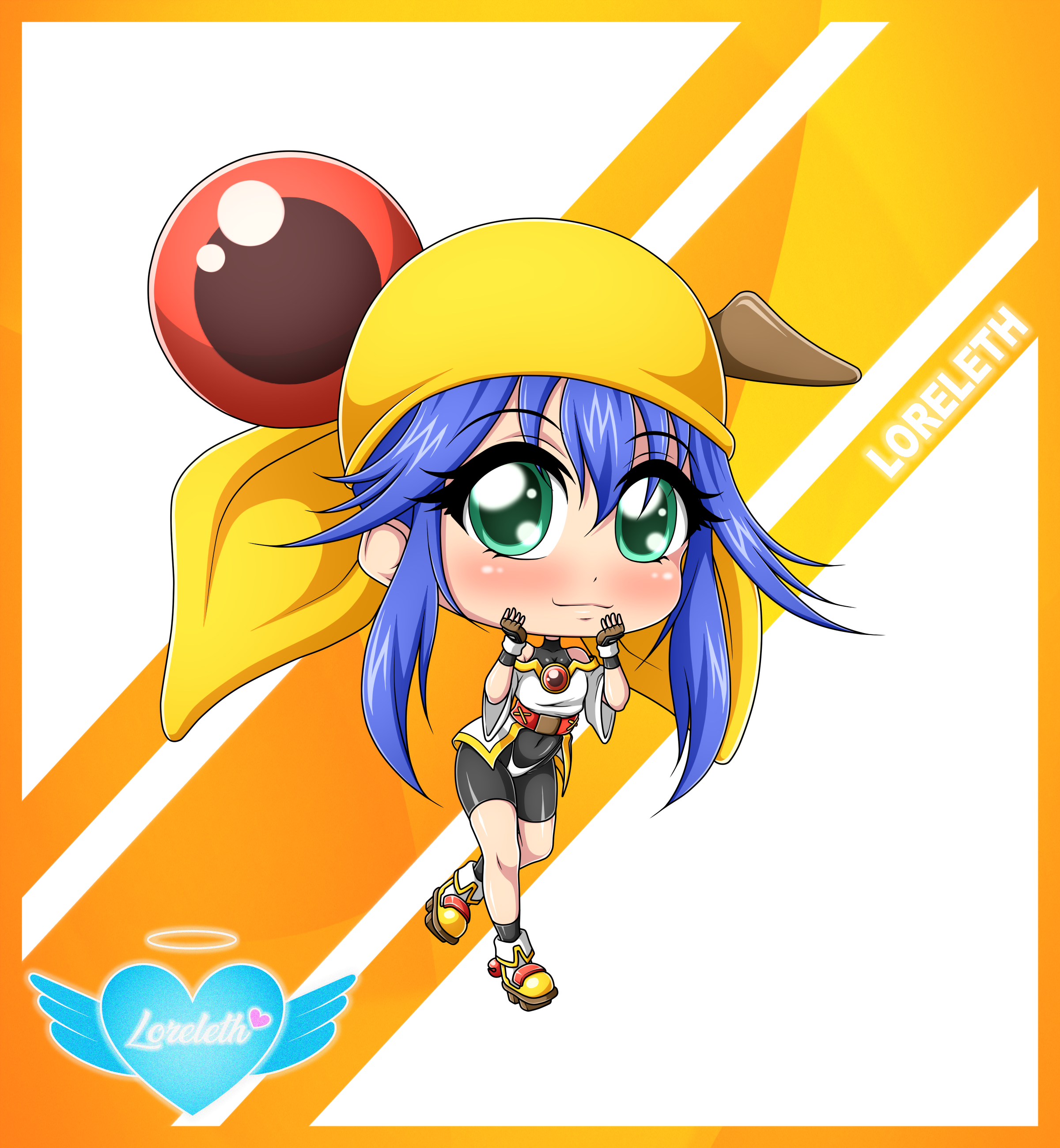 Cute Chibi Girl 53 (Commission)
