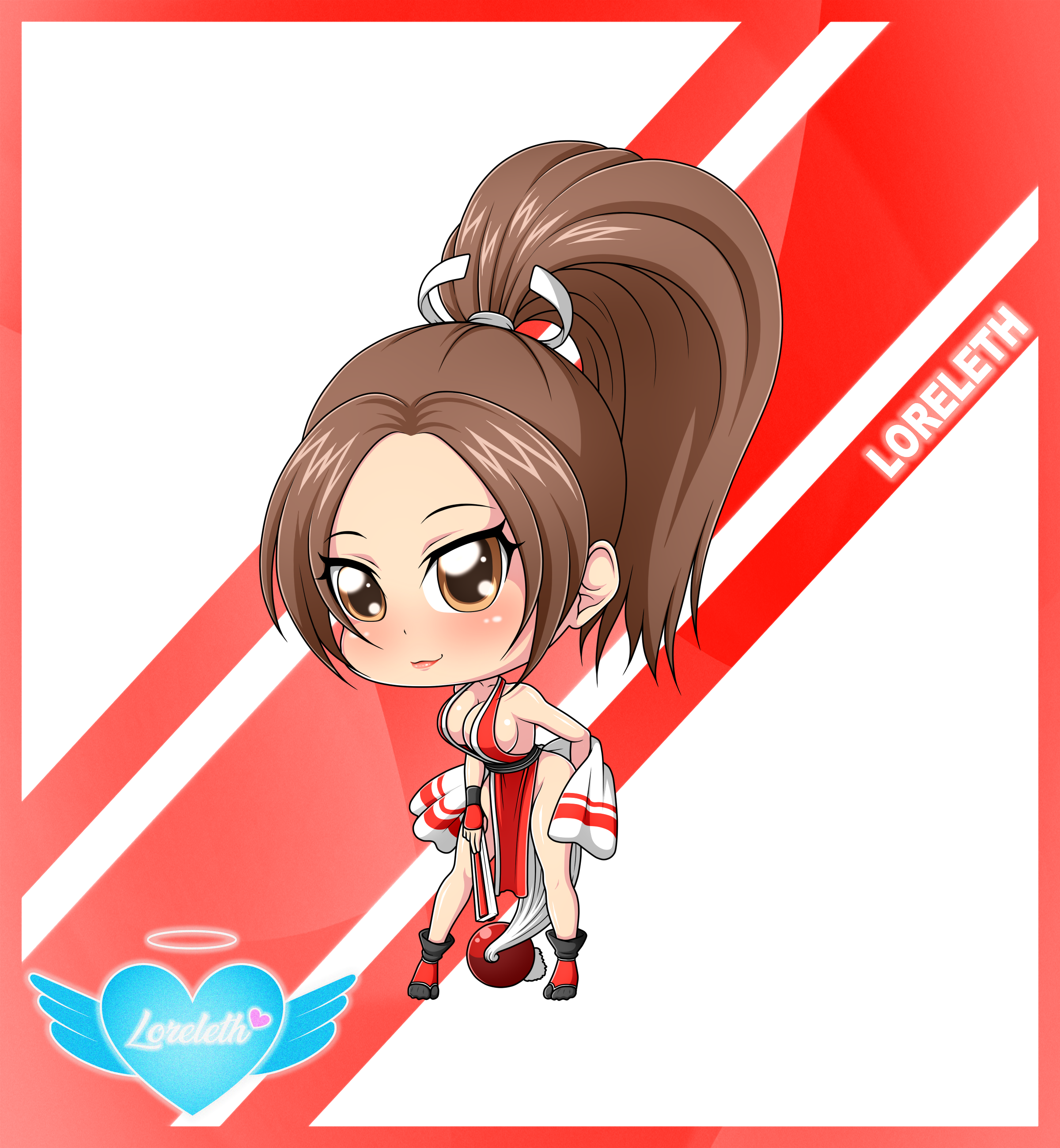 Cute Chibi Girl 54 (Commission)