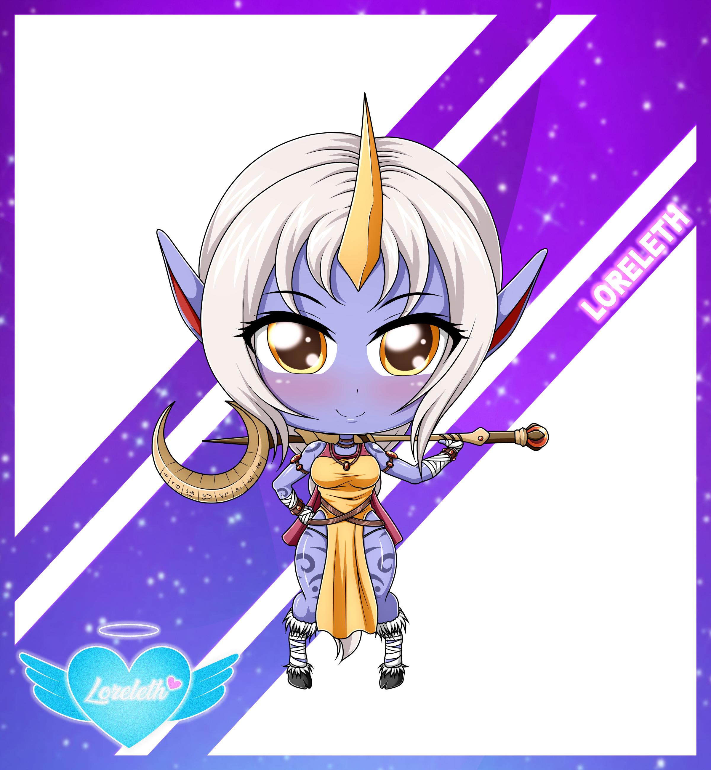 Cute Chibi Girl 55 (Commission)