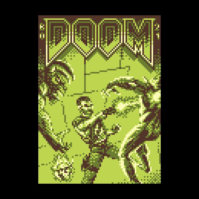 PSX Doom on GB