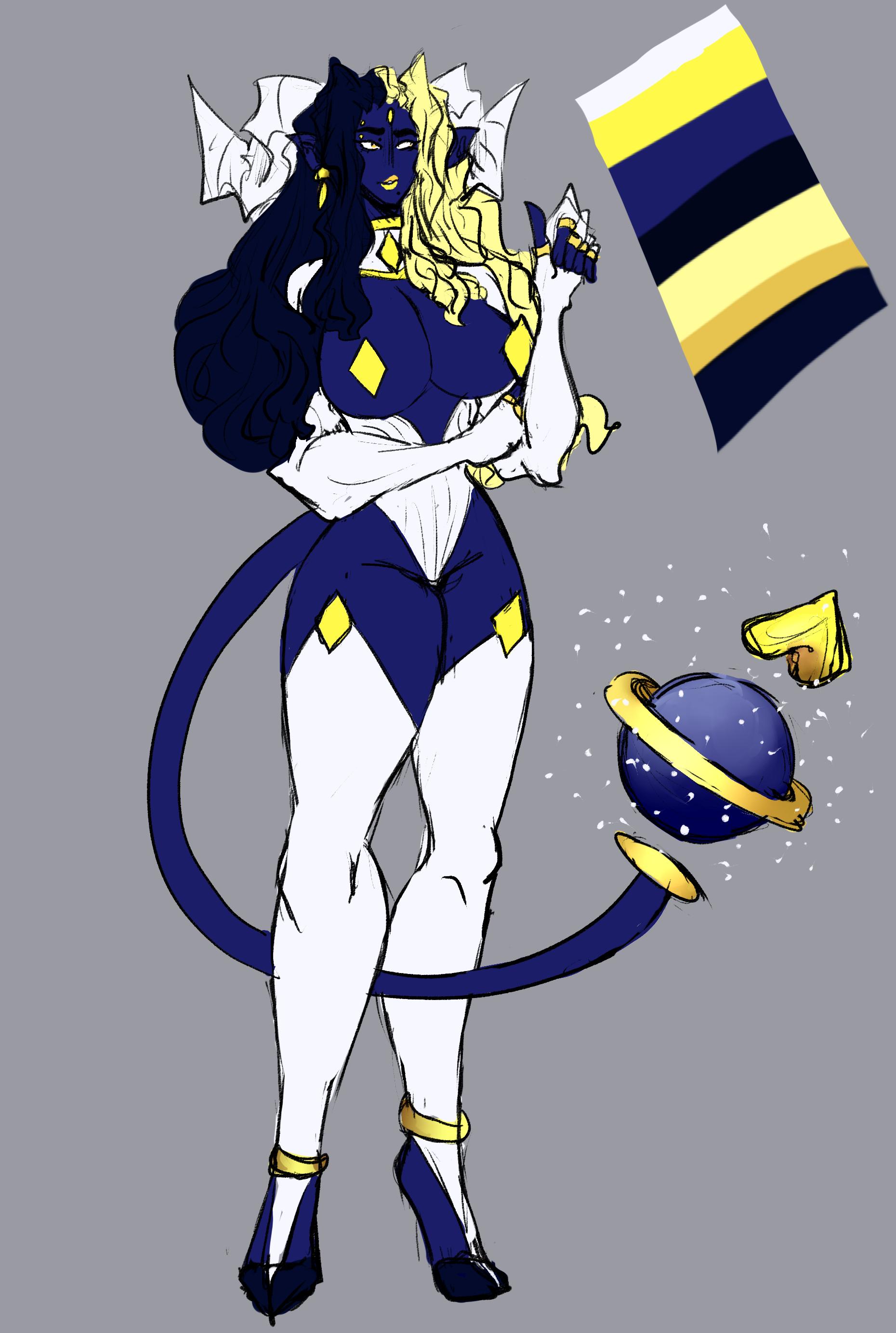 Cosmic Demoness