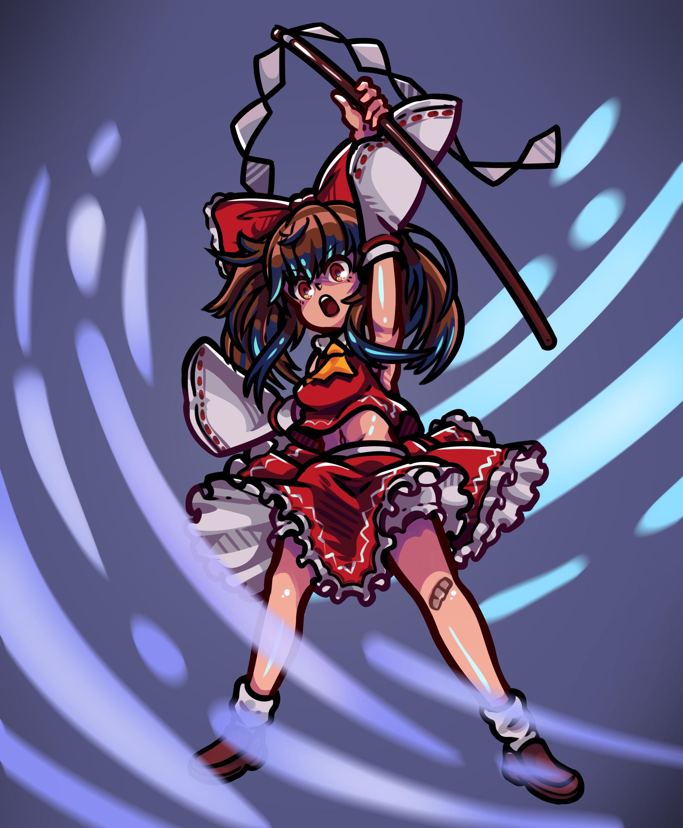 The Angry Reimu