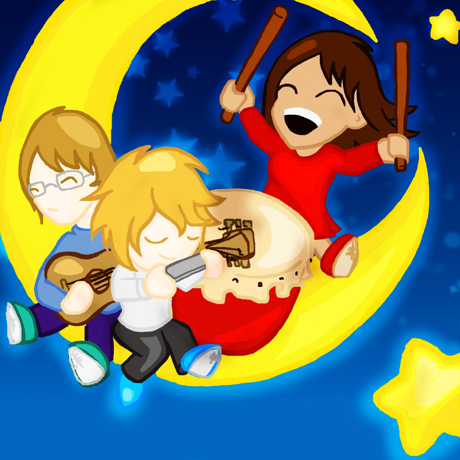 Ballade on the moon