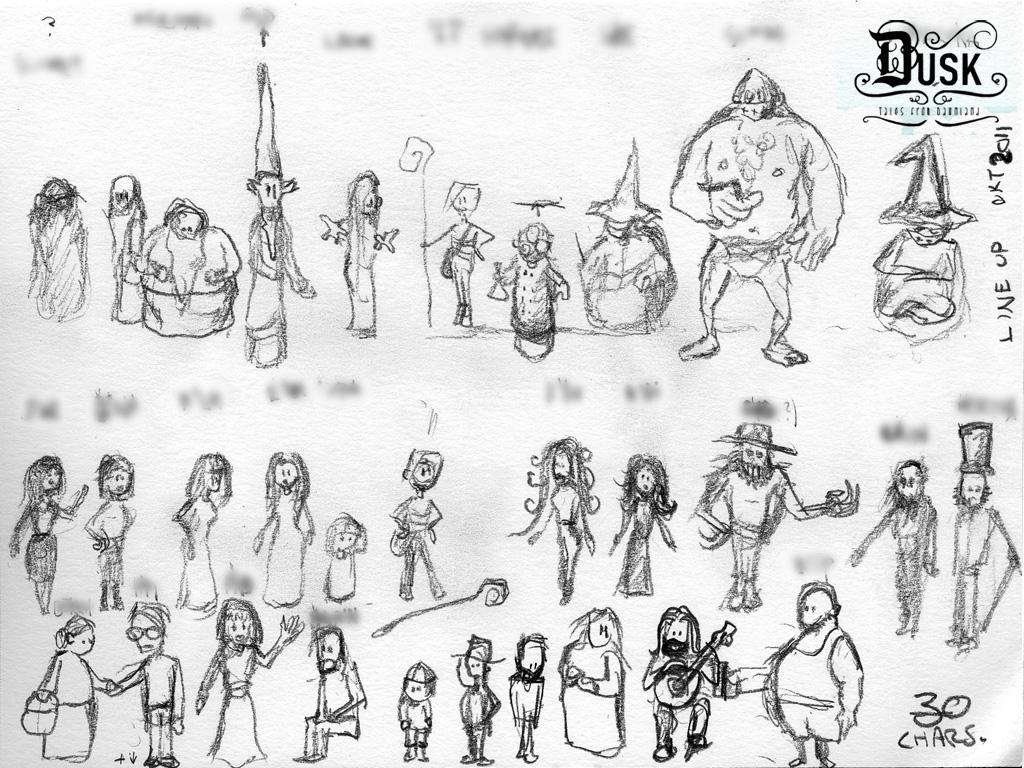 Tales... char lineup concept