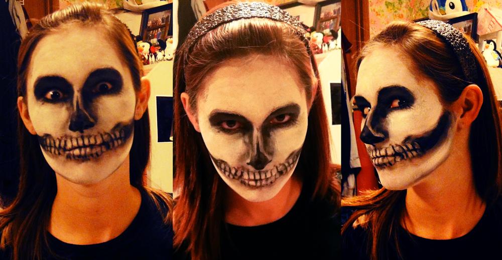 Skullface Makeup