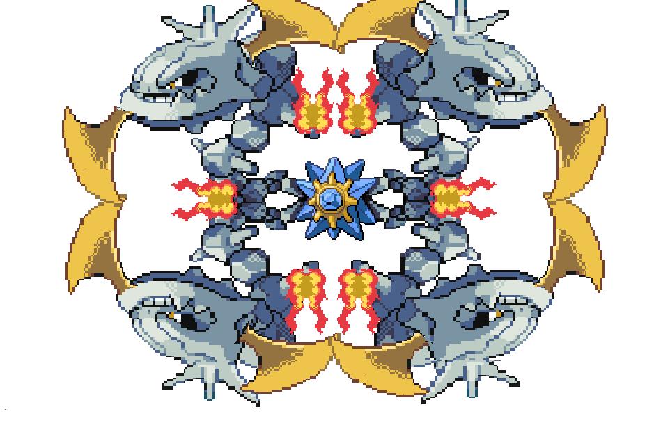 Mega Pokemon Sprite By Austinisawsomex2 On Newgrounds