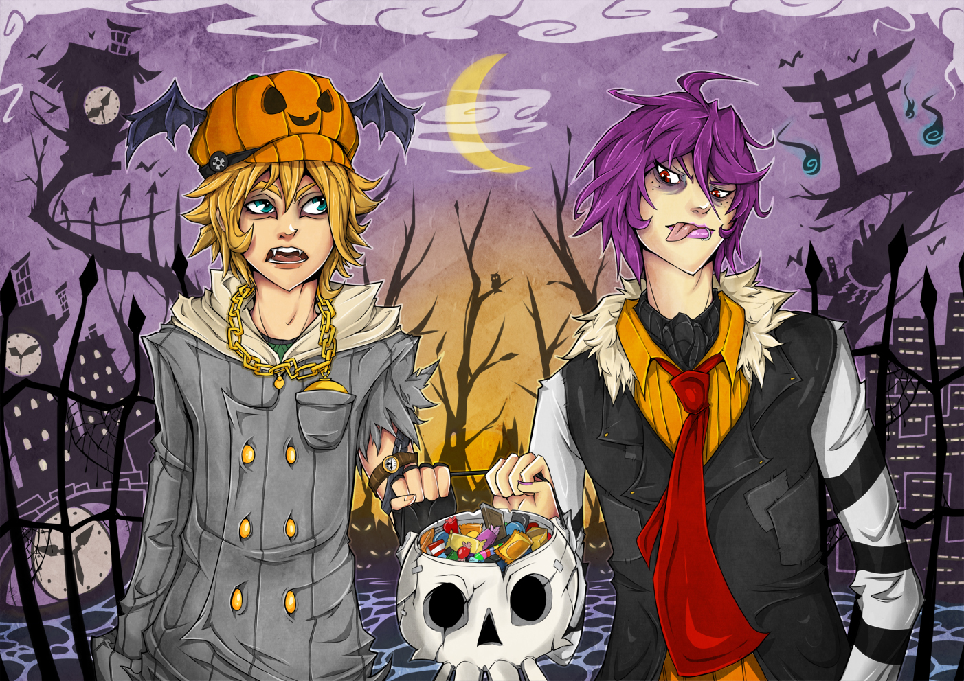 Morty and Kei's Halloween