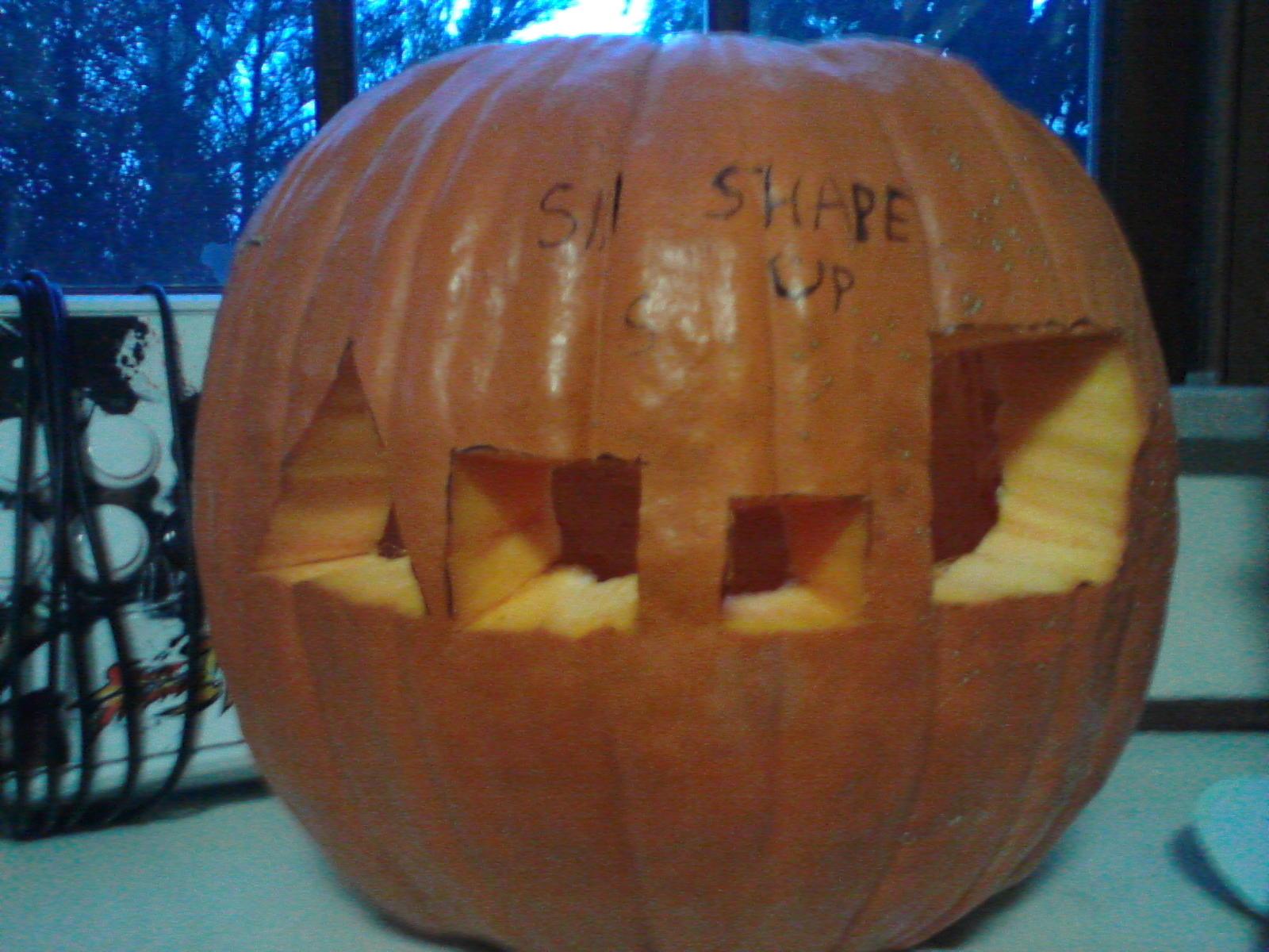 Shape Up Pumpkin