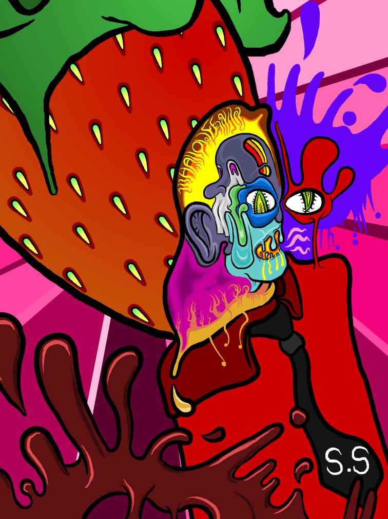 Strawberry-mint-man