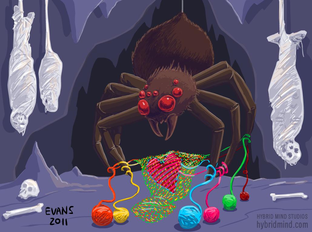 The Patron Demon of Knitting