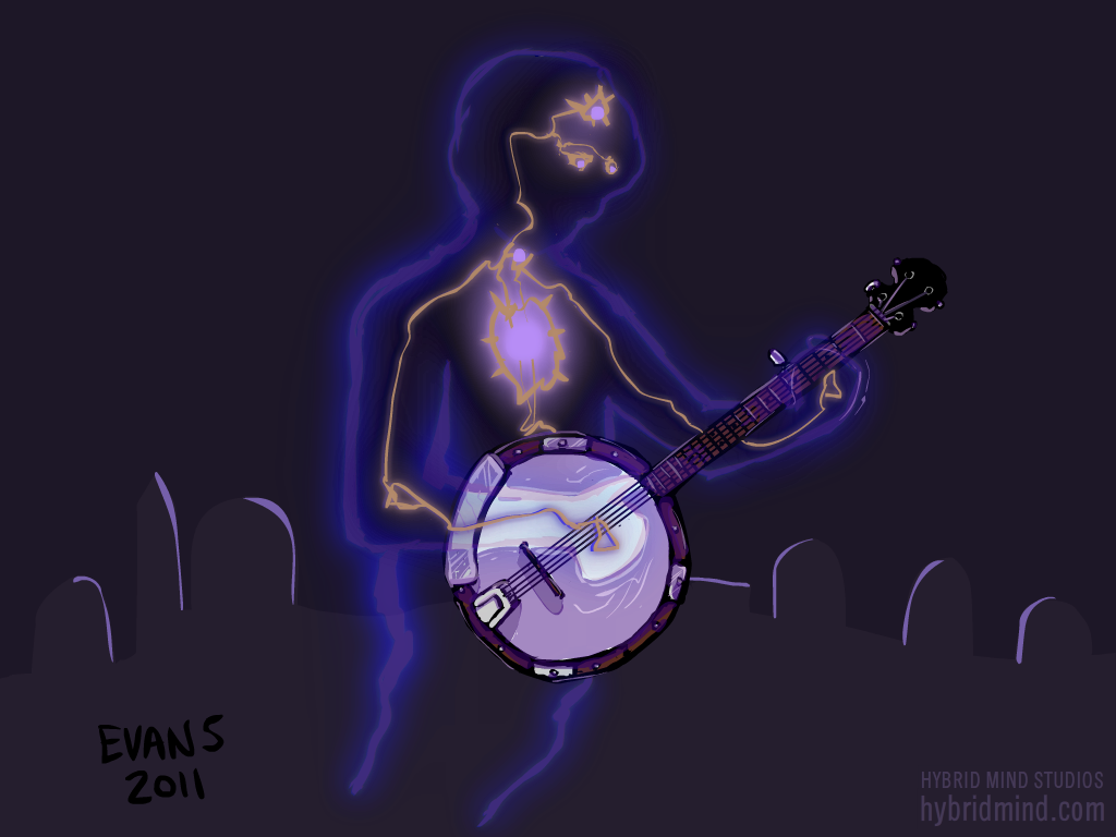 Just a Hauntin' and a Pickin'