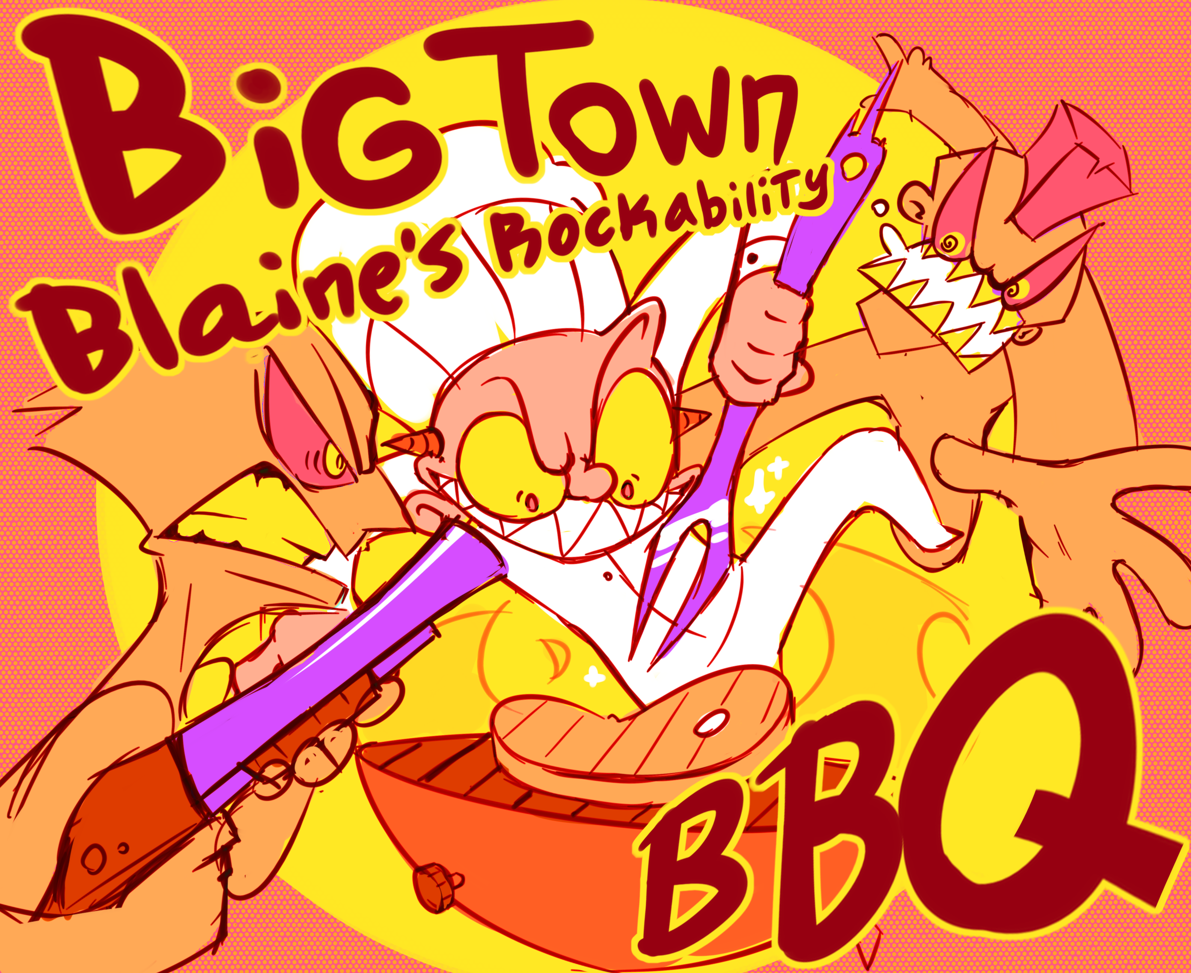 Big Town Banky Blaine's Rockabilly BBQ