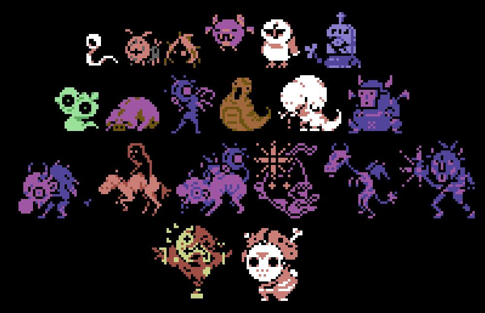 Rat Game Monsters