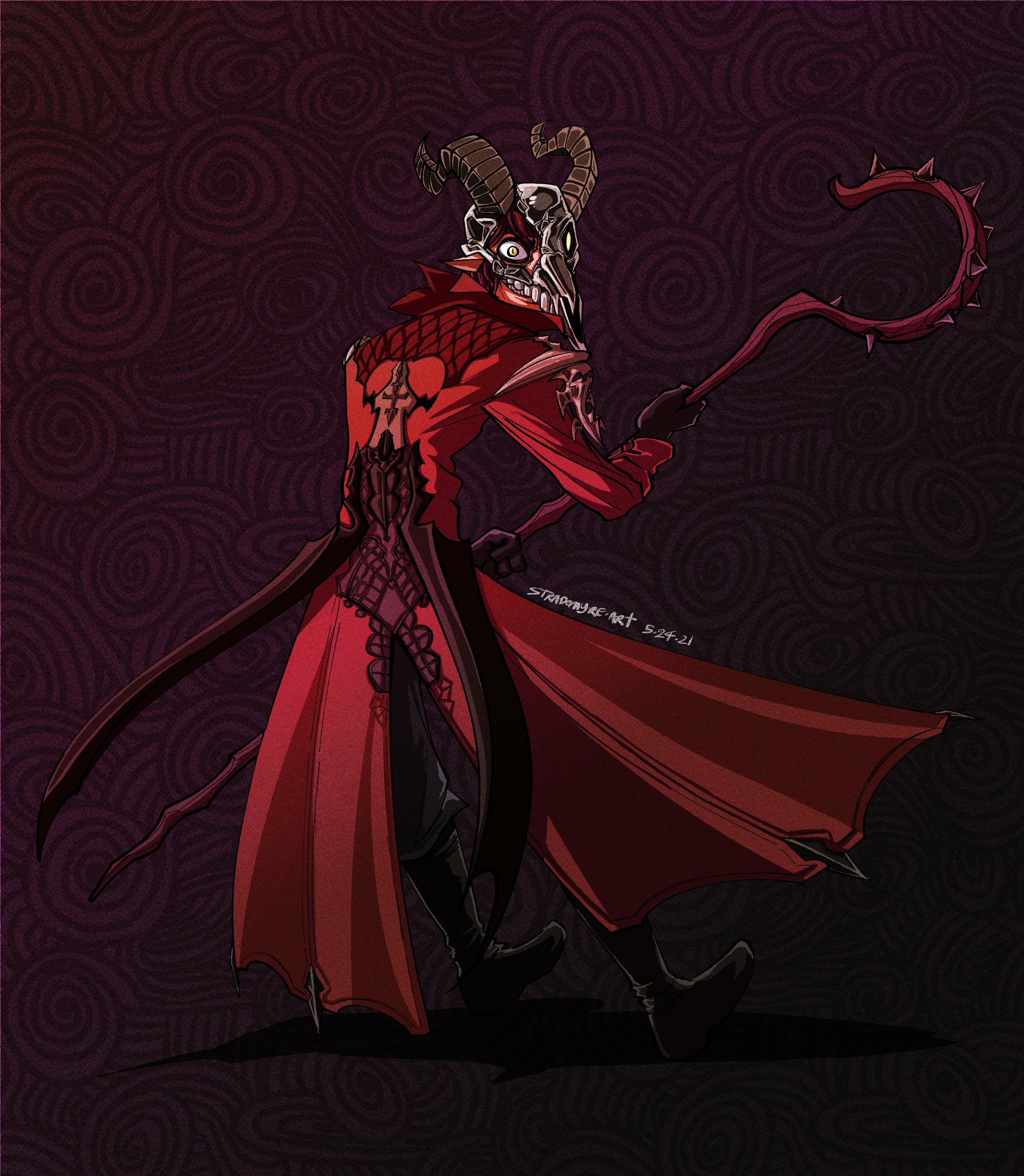 COMMISSION - Demon Mage