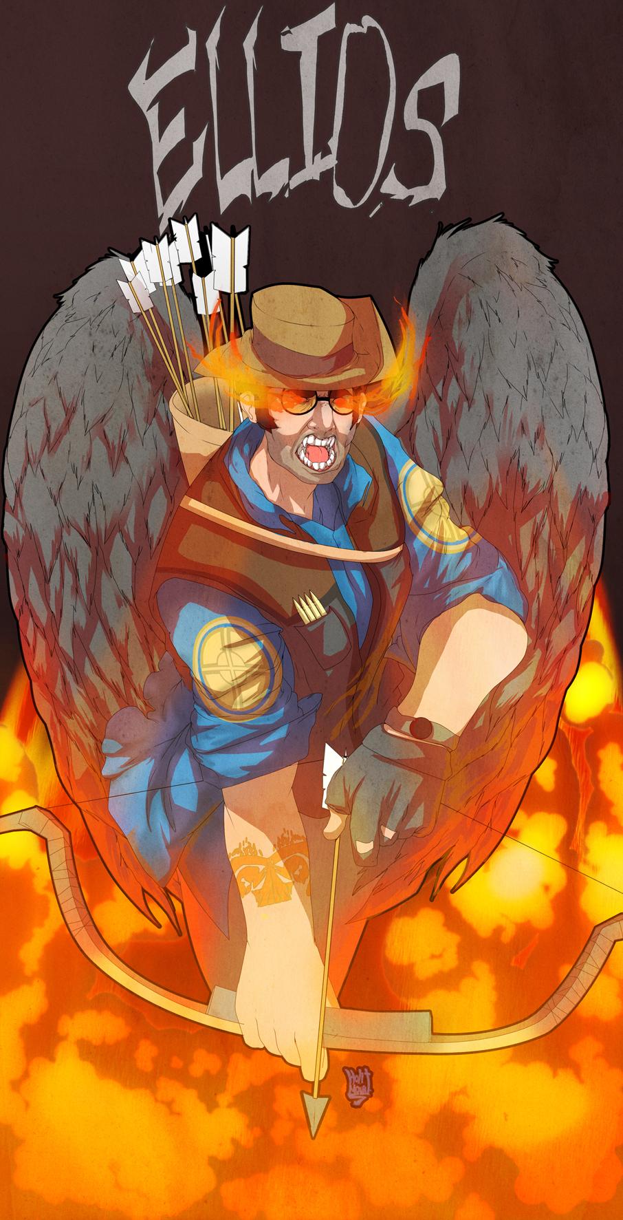 Sniper angel of death