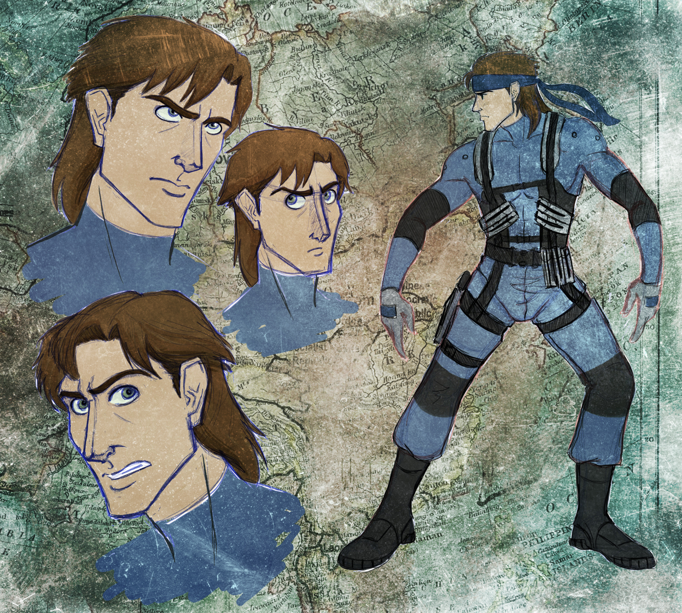 Solid Snake Redesign