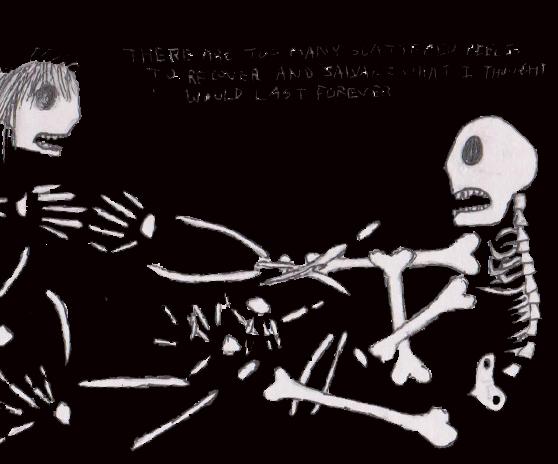 Skeletons Drifting