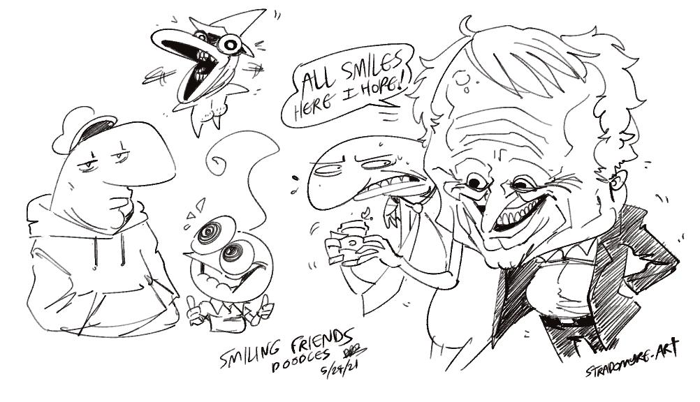 Smiling Friends Doodles
