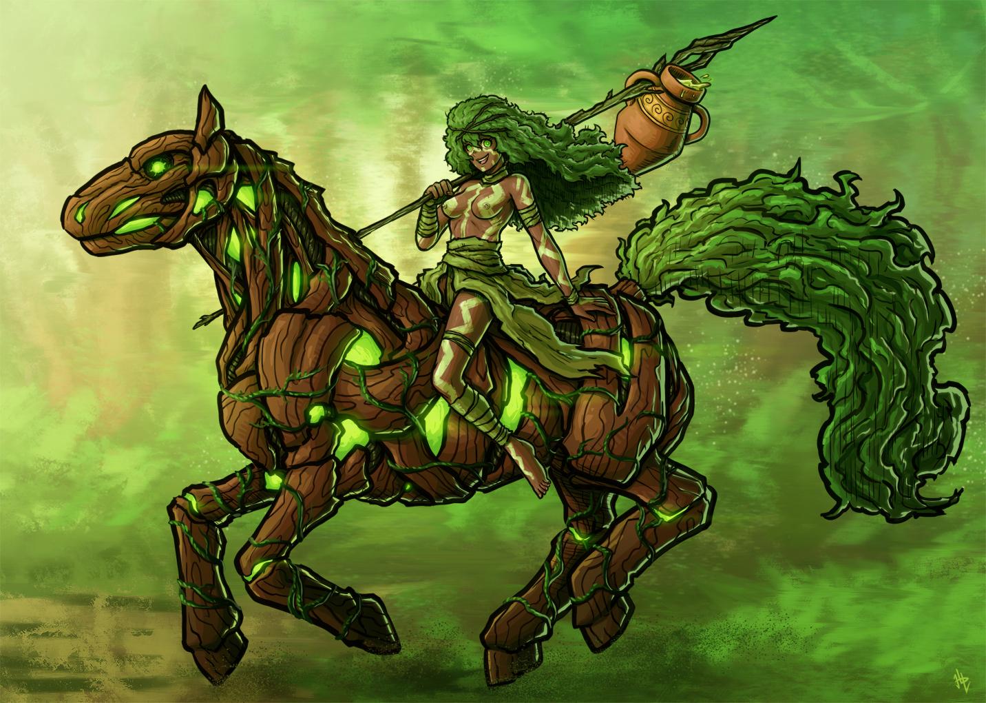 Green Rider of Life