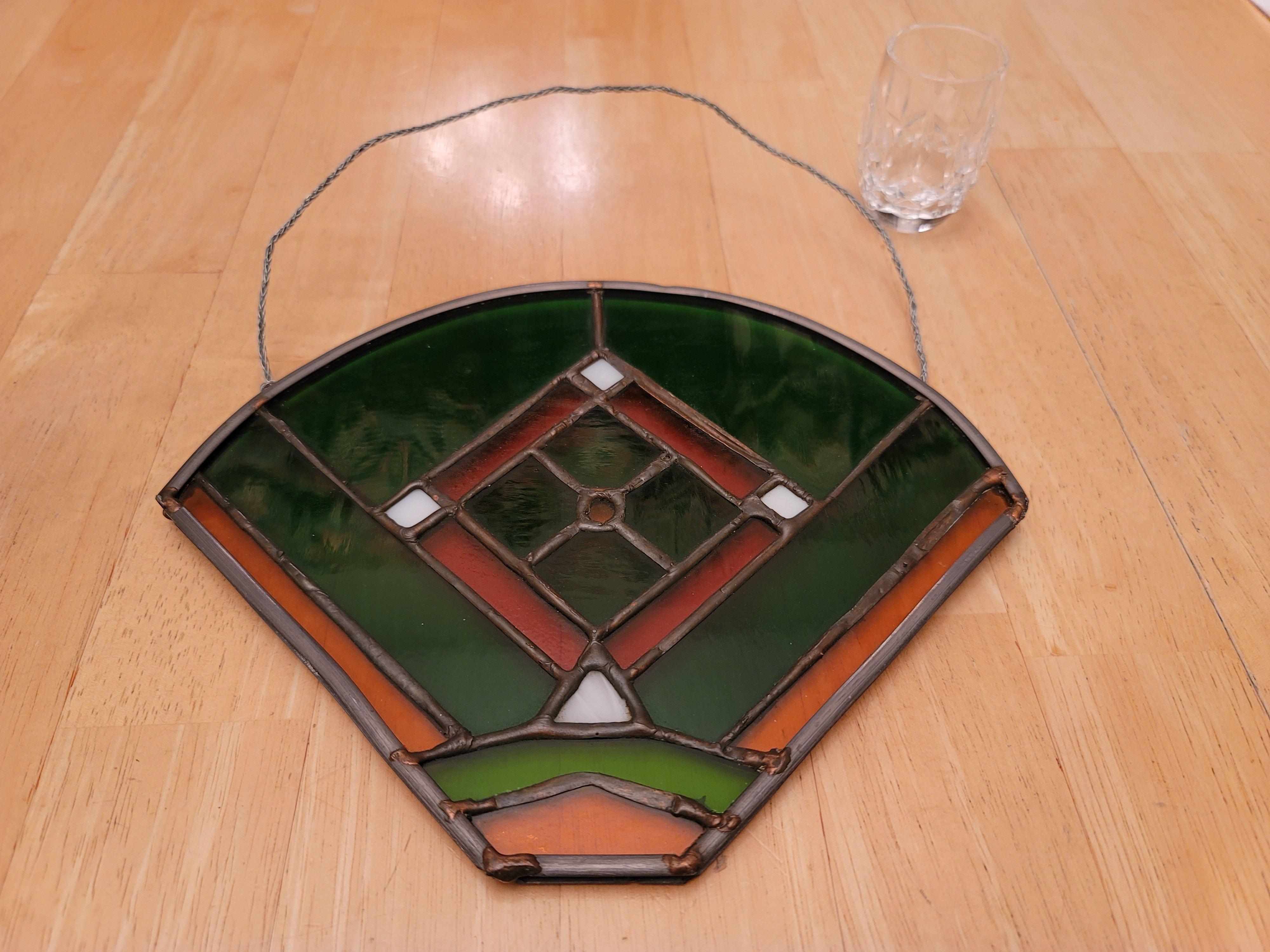 Baseball Diamond (Stained Glass)