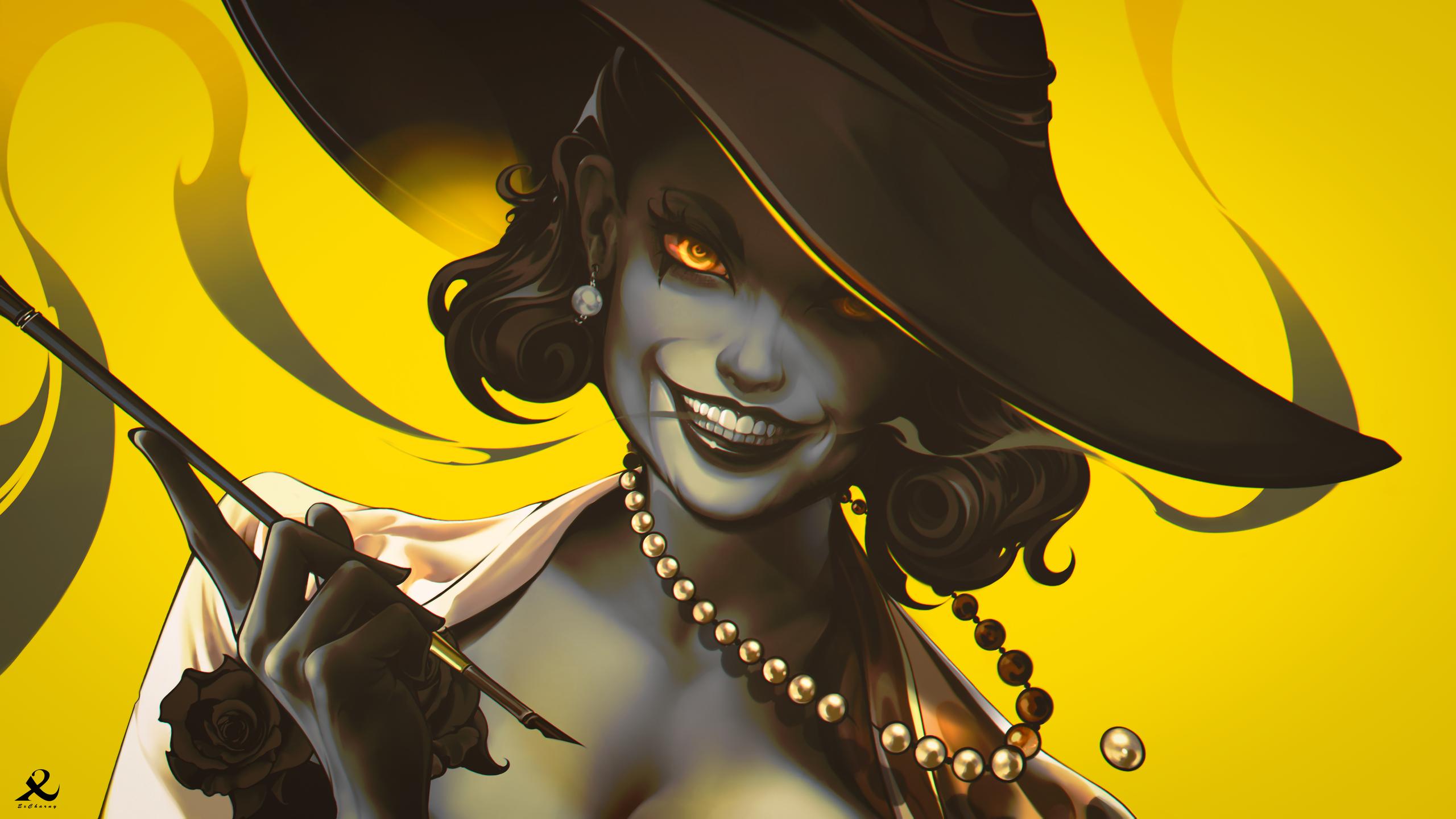Lady Dimitrescu [ Resident Evil Village fanart ]