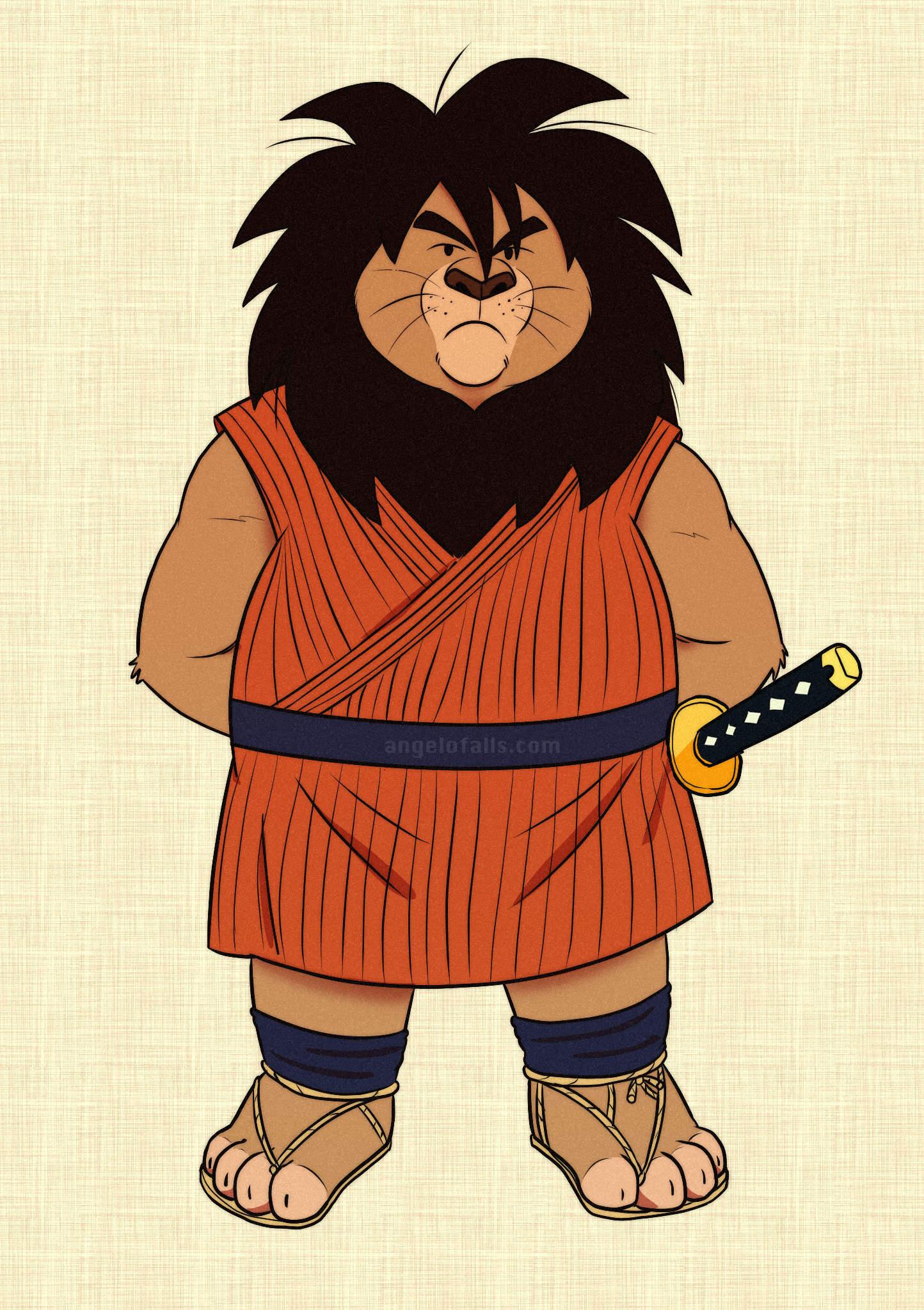 Lion Yajirobe !