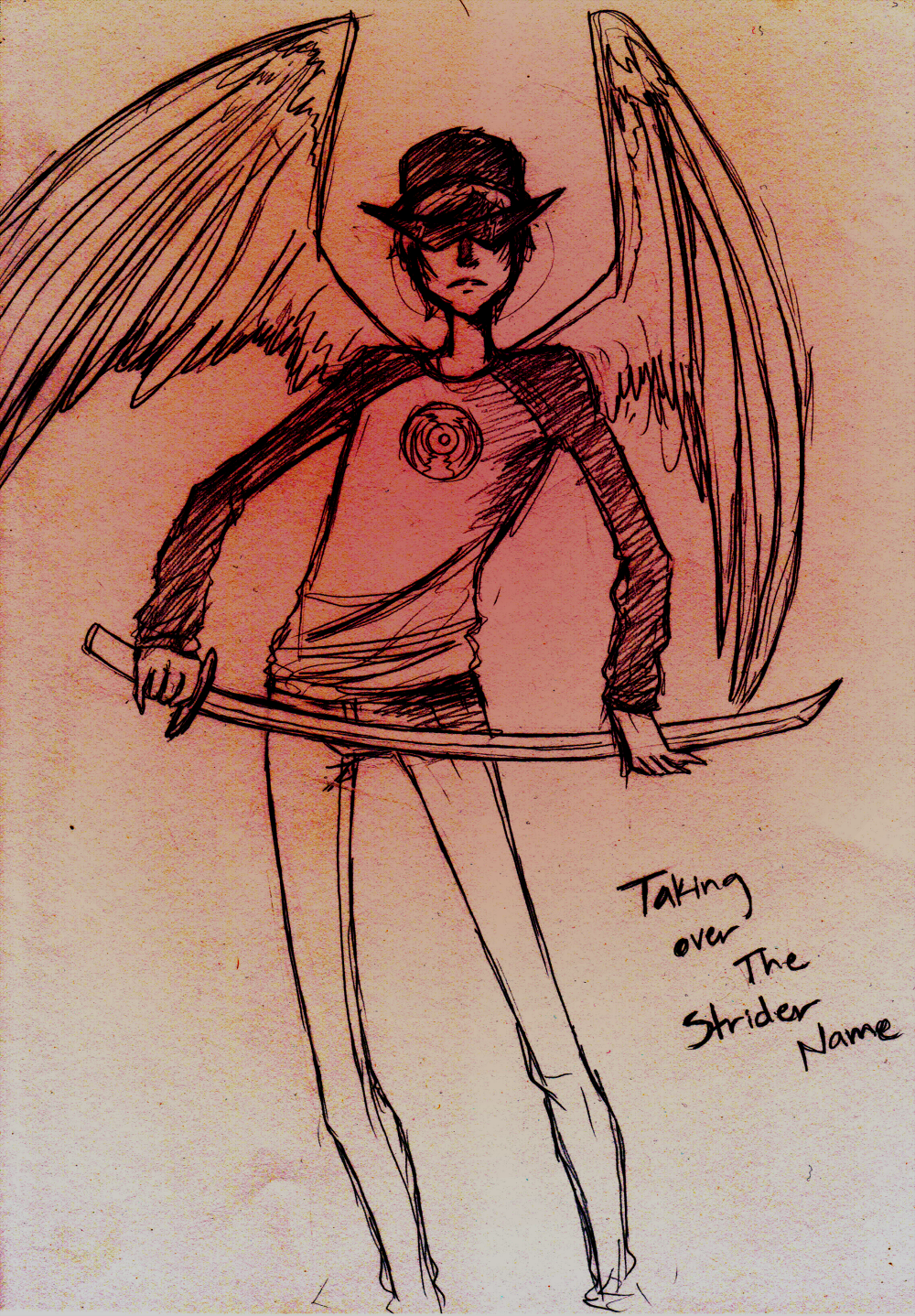 Homestuck: Dave taking over