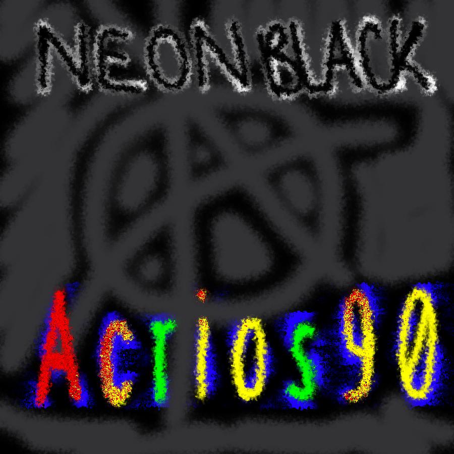 Neon Black Album Cover