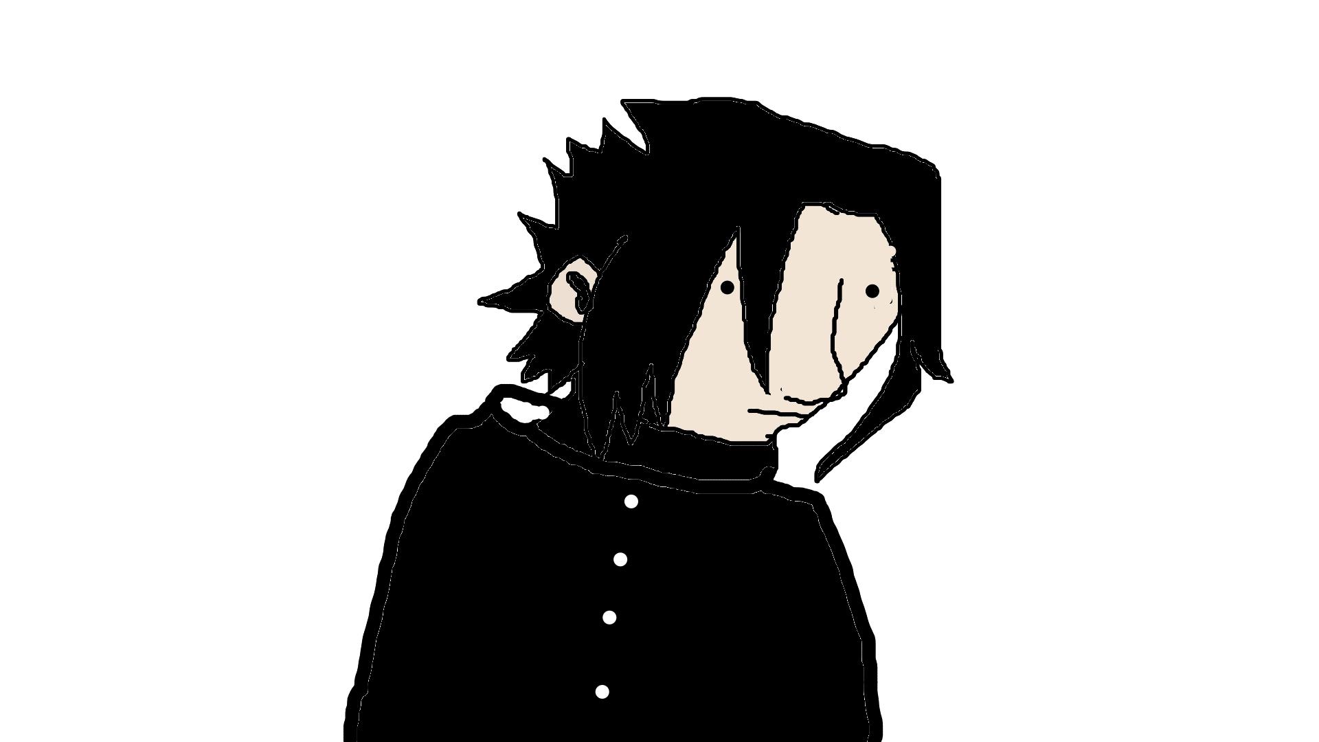 Silly idiot sasuke