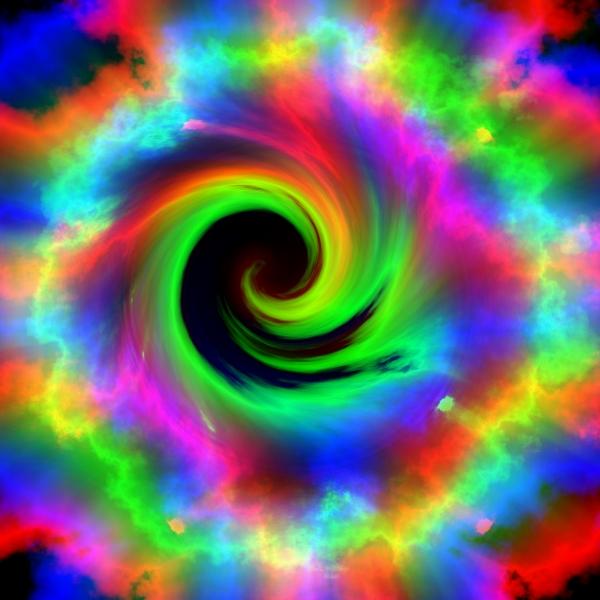 Rainbow vortex