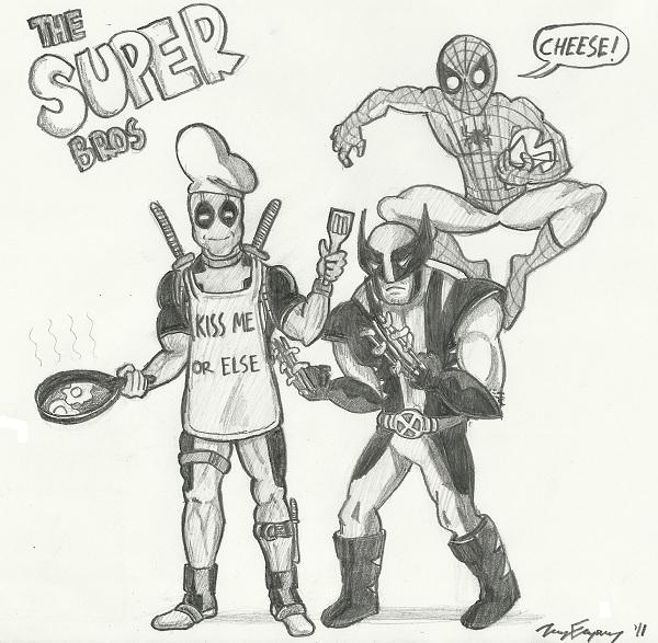 The Super Bros!