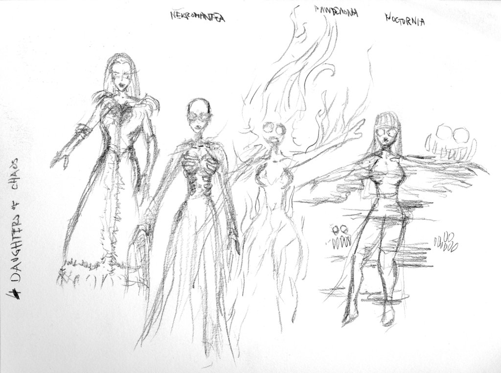 Tales... Daughters - concept