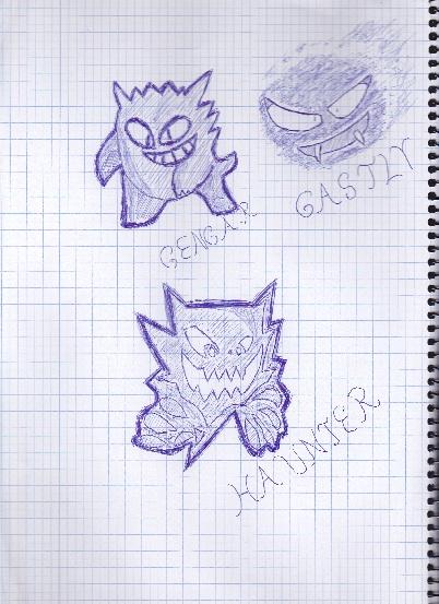 Pokemon- Ghostly trio