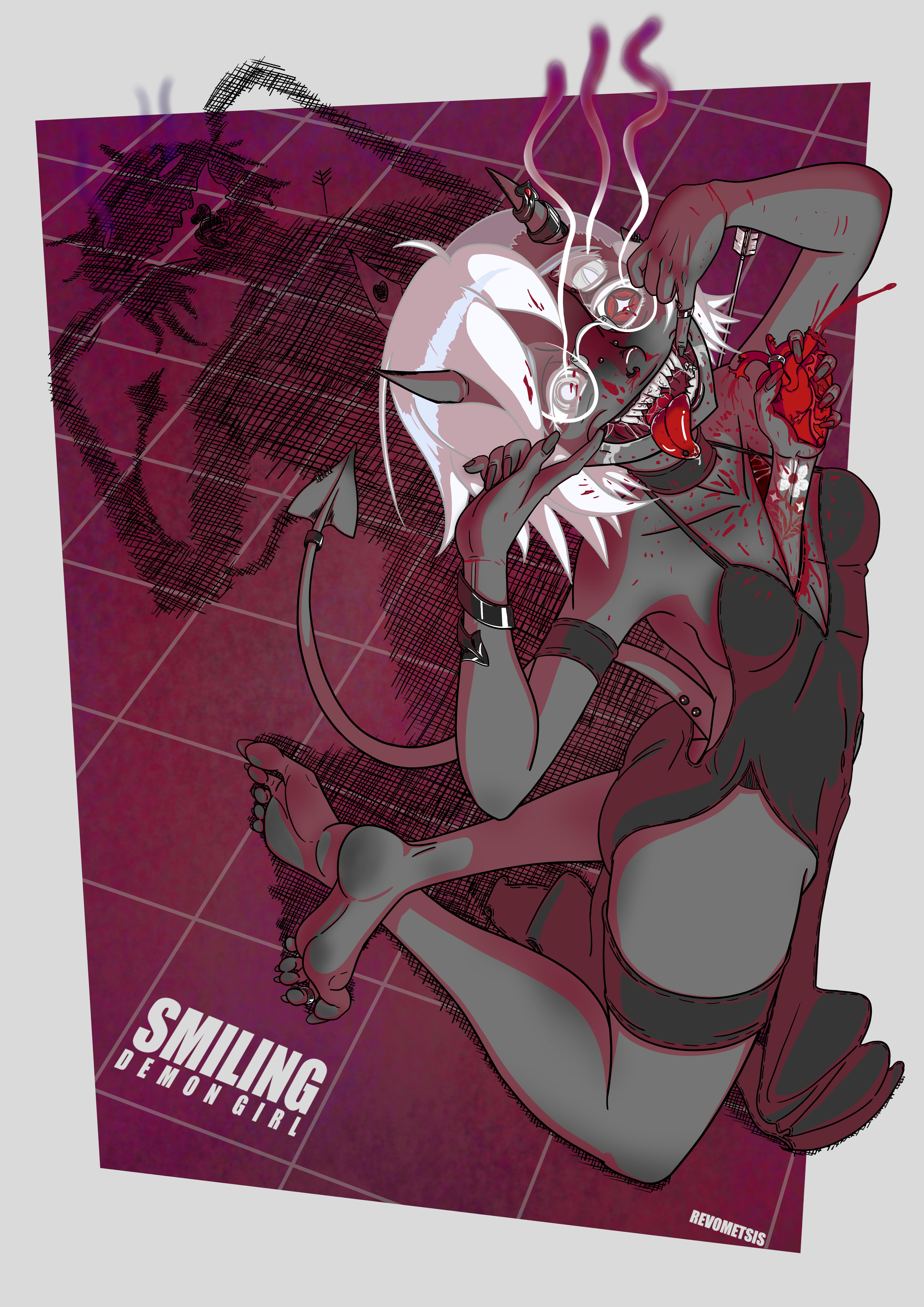 Smiling Demon Girl (Beautiful Looser)
