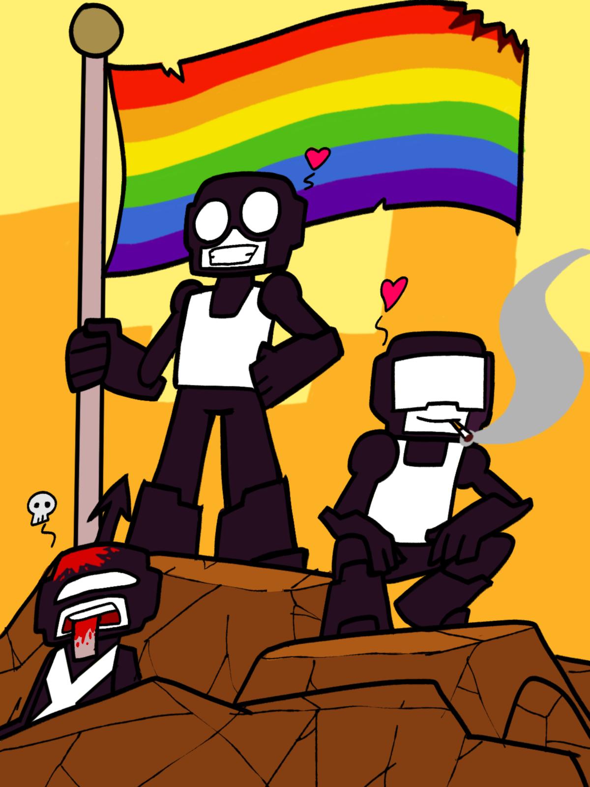 Tankmen: love conquers all