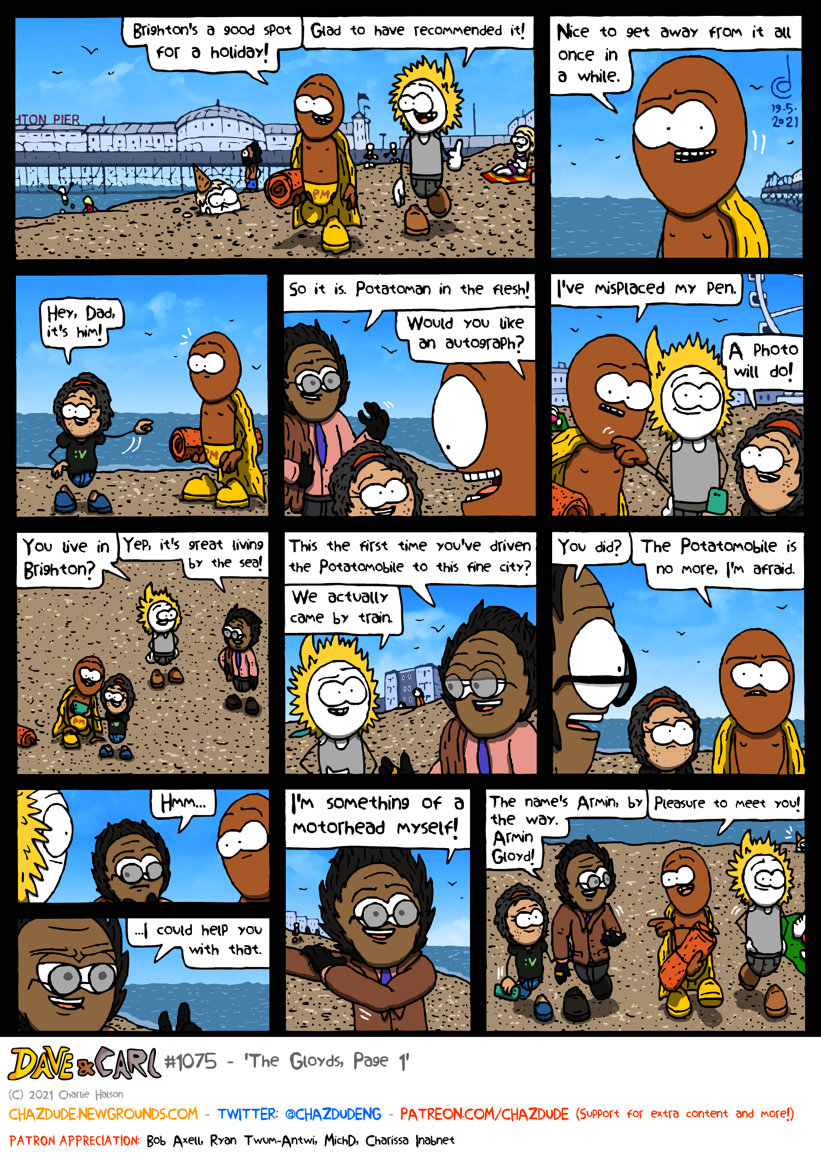 The Gloyds, Page 1
