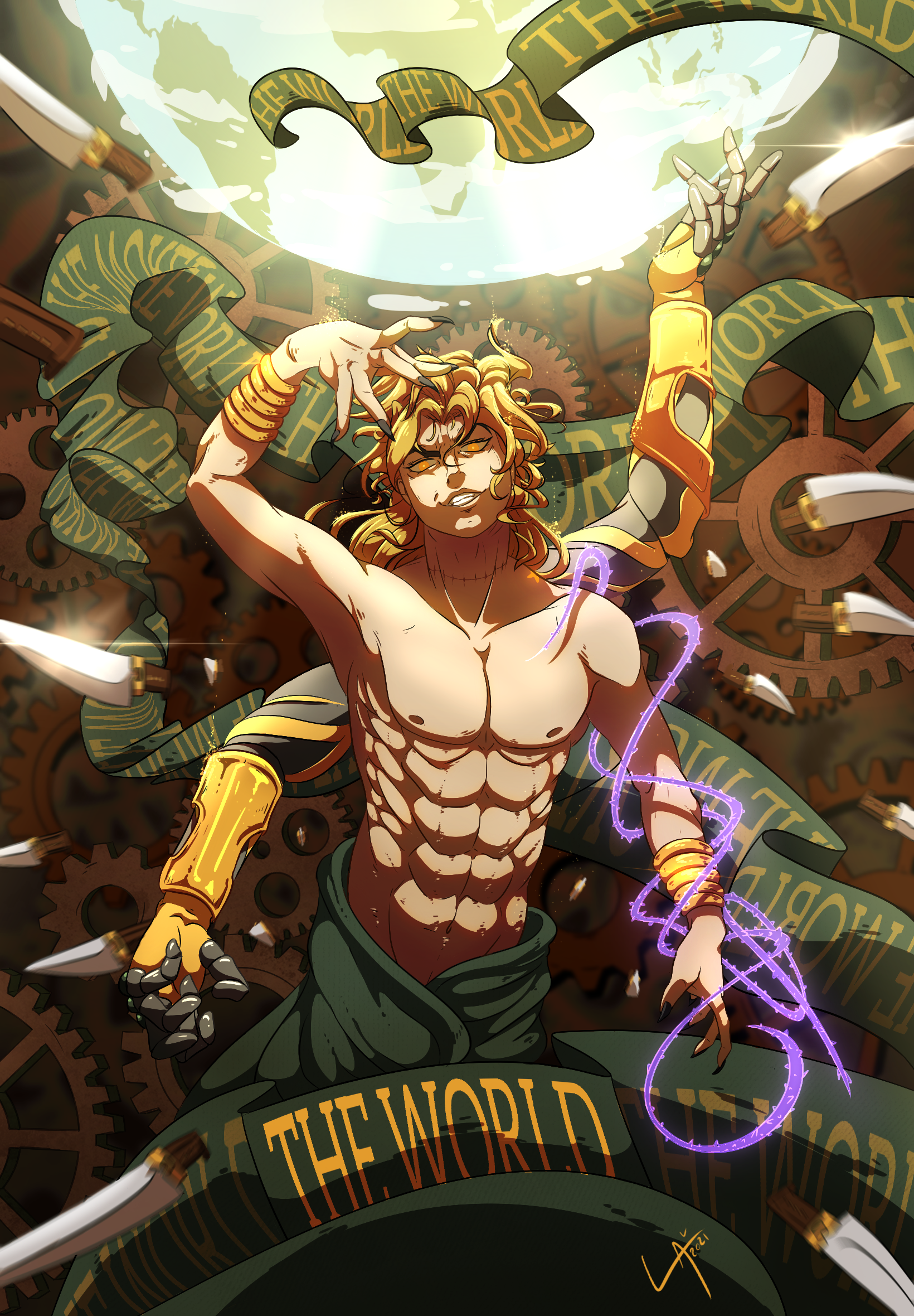 XXI - The World