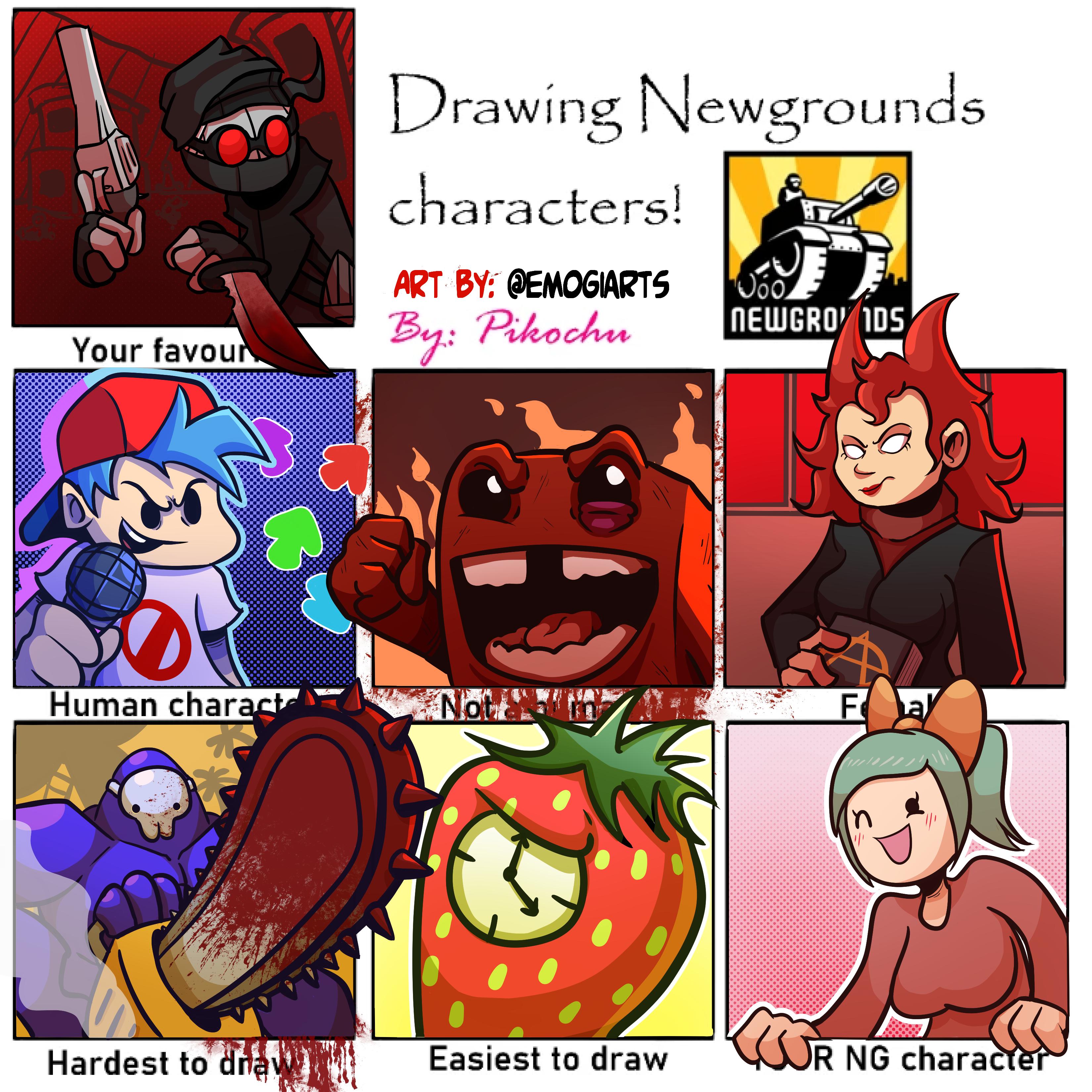 Newgrounds Drawing meme yooo!