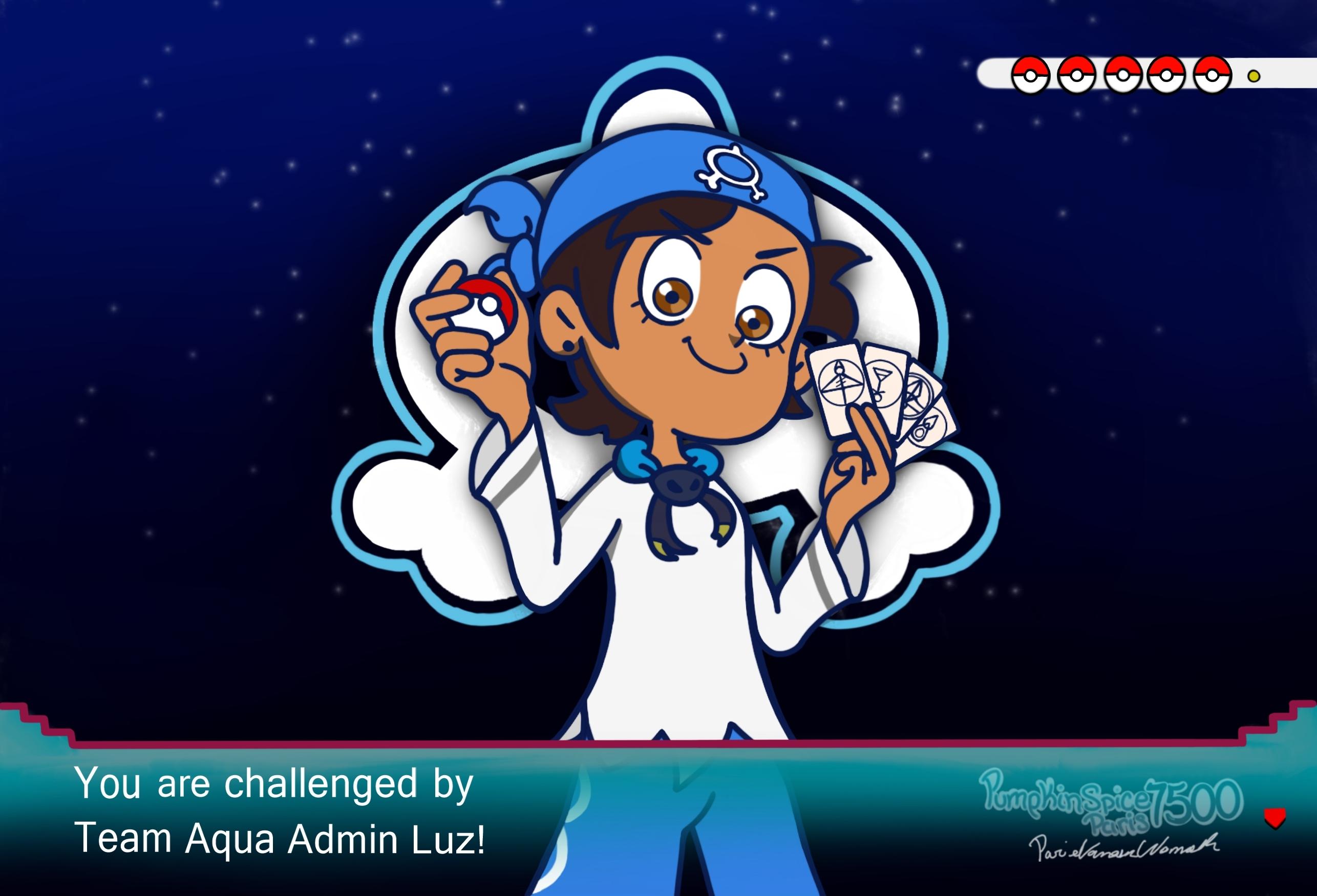 Team Aqua Admin Luz