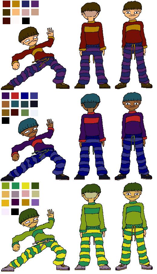 Klom Color Schemes