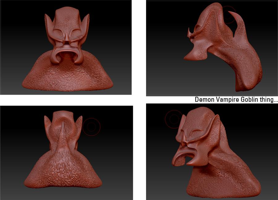 Demon Vamp Beast thing..