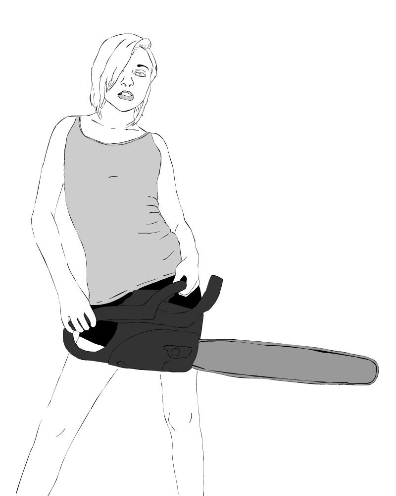 chainsaw girl