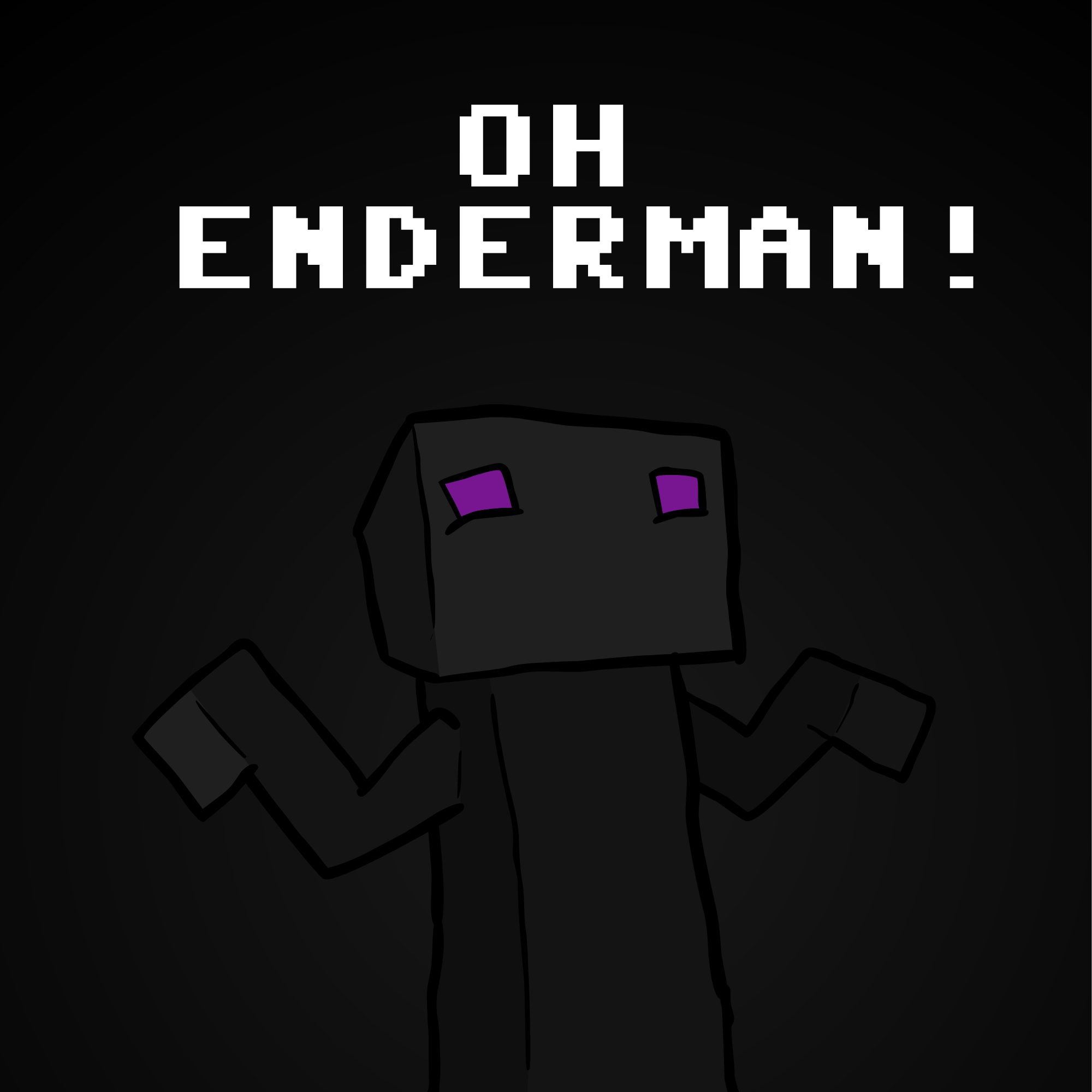 Oh Enderman By Ninjacube On Newgrounds-7491