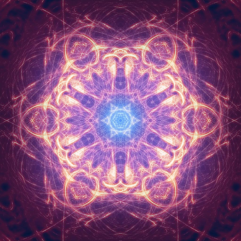 Blue Star Mandala
