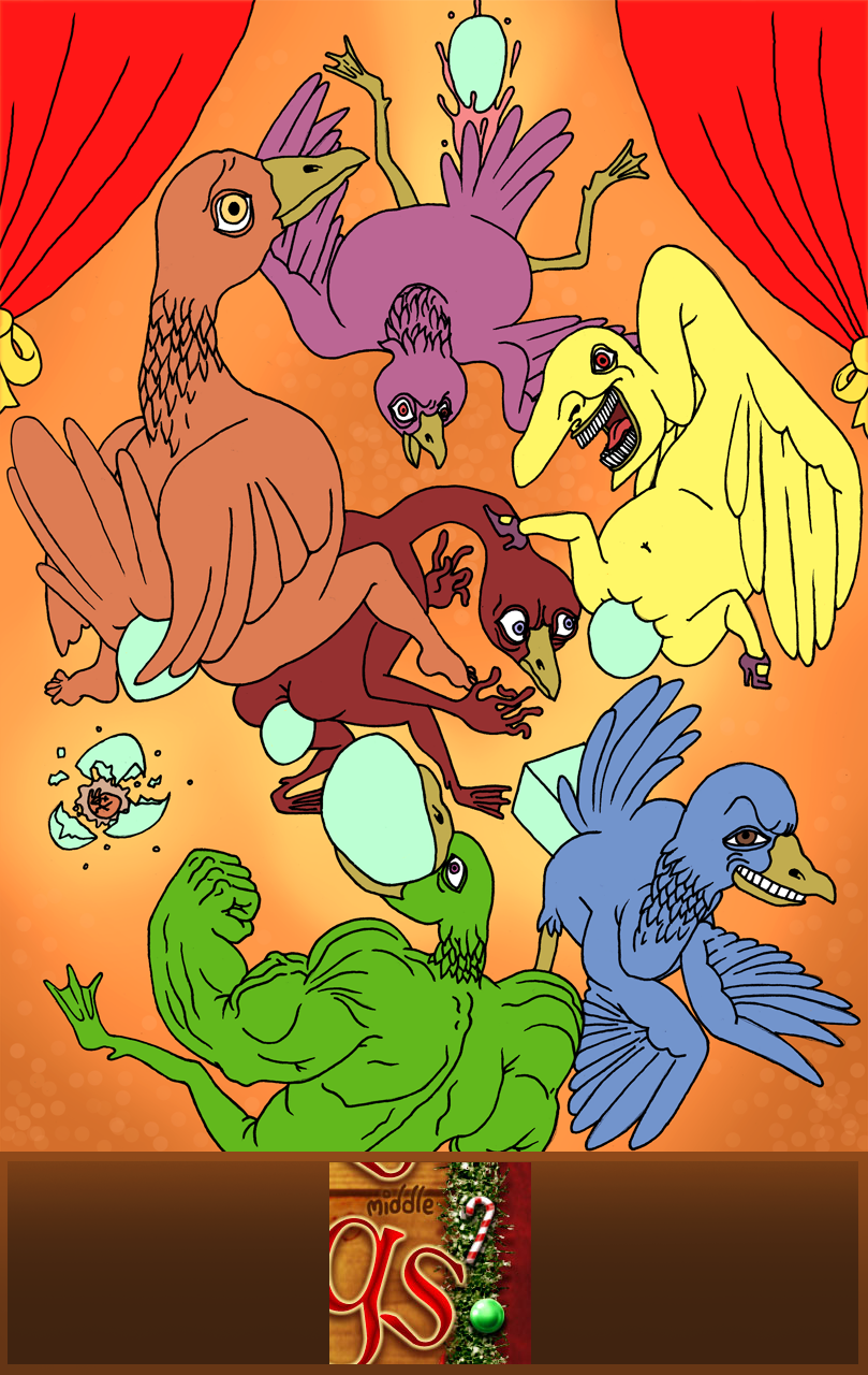 Greasy Geesy Rainbow Fun
