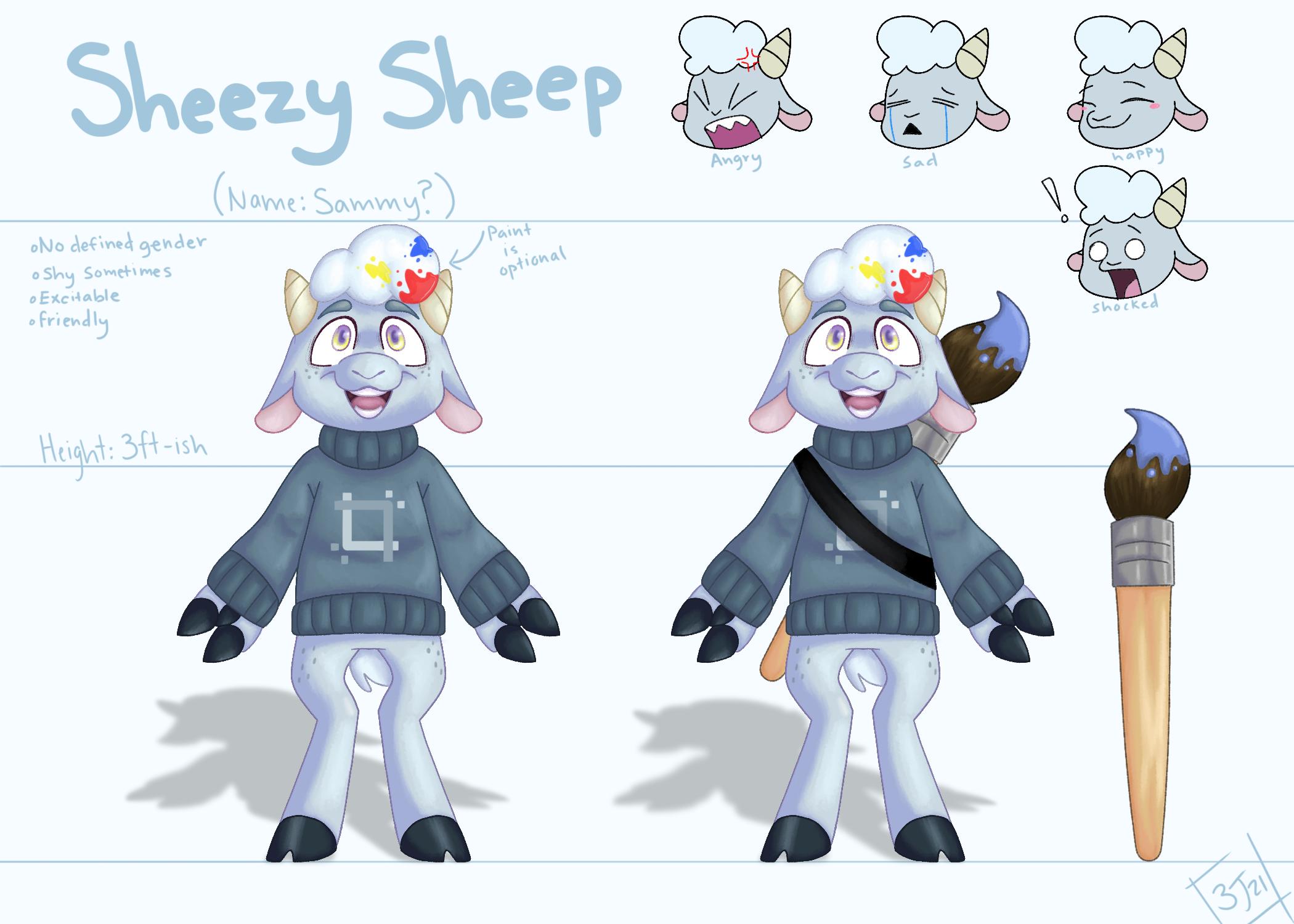 Sheezyart mascot contest