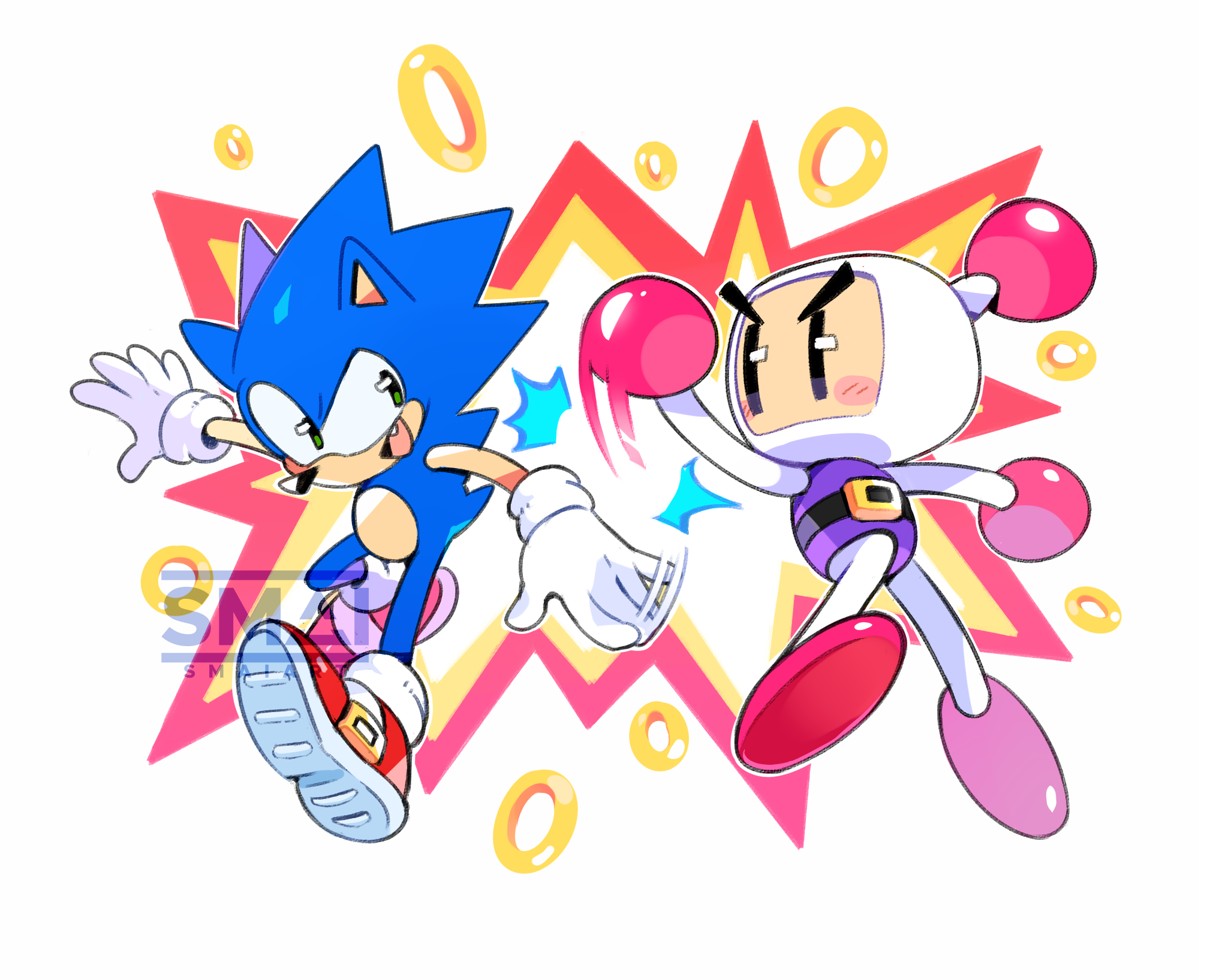 Sonic & Bomberman