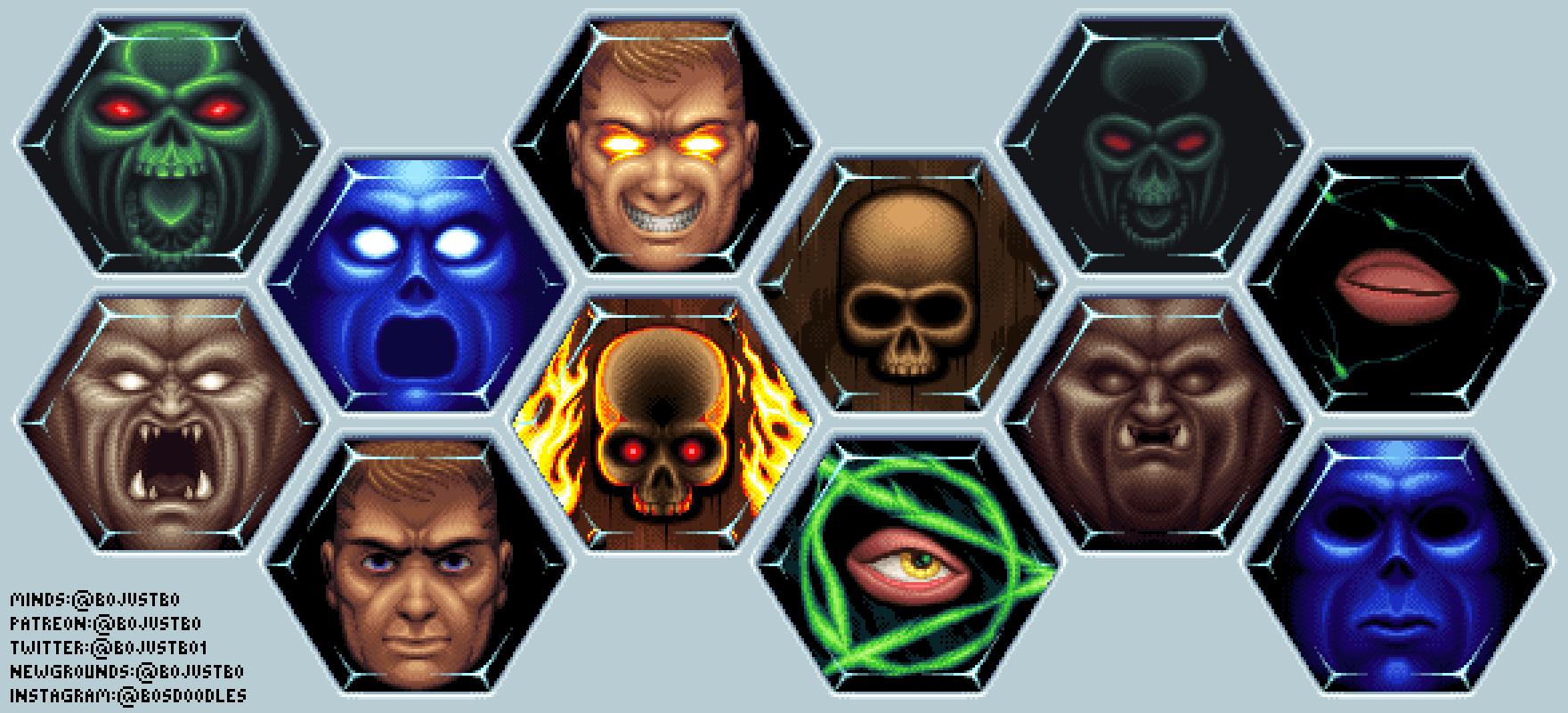 Commission - Doom gems