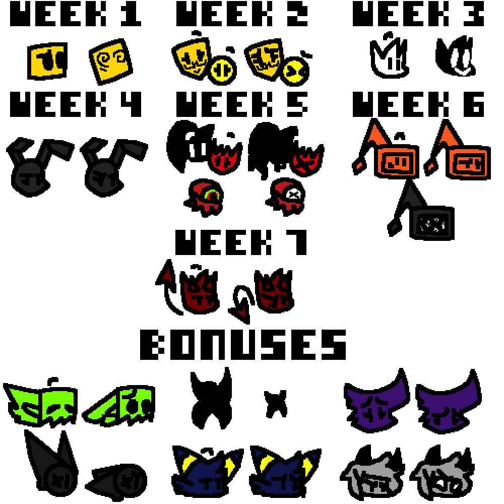 FNF Mod Concept Icons