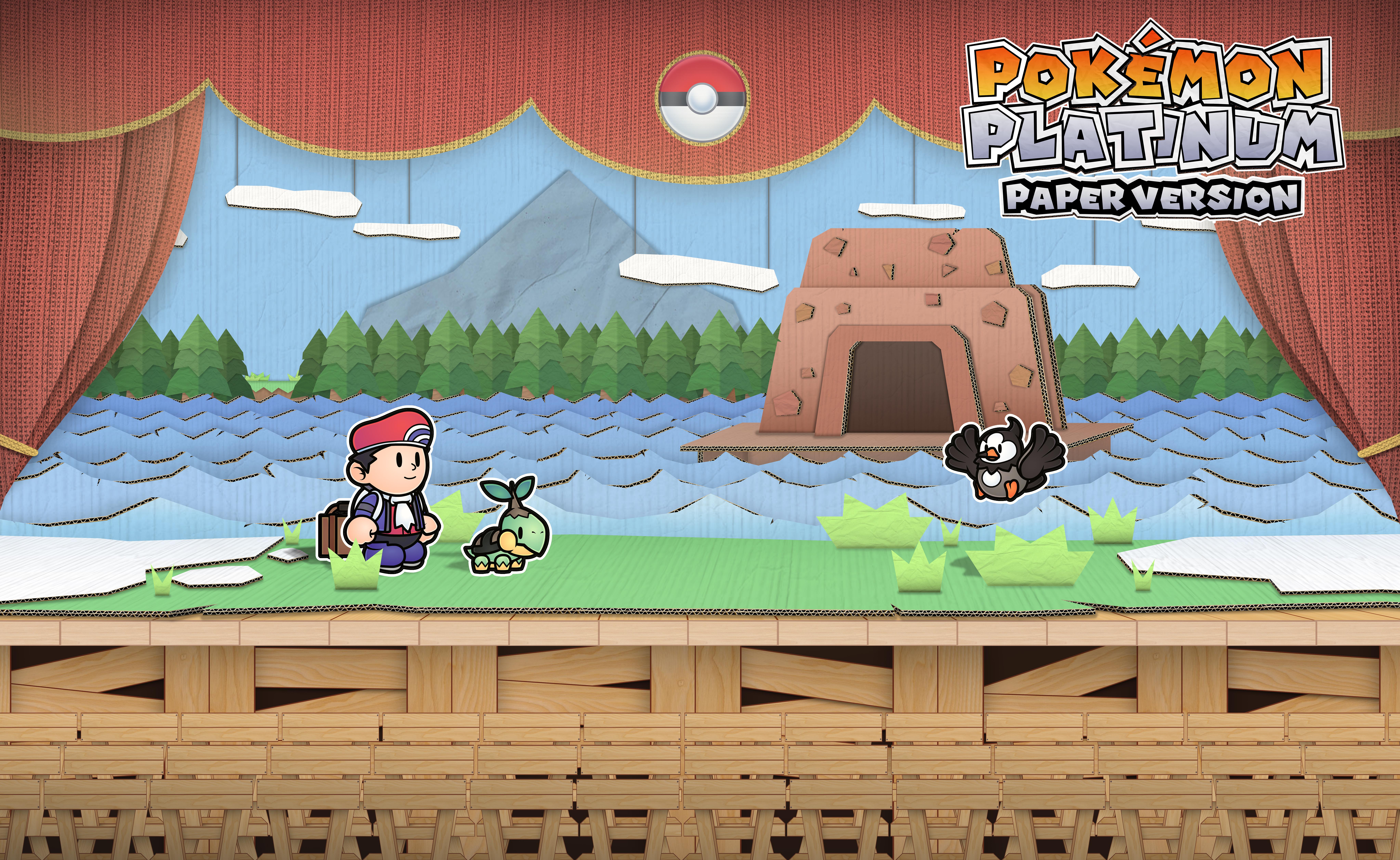Lake Varity but Paper Mario